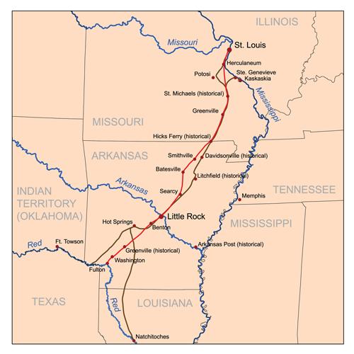 Southwest Trail - Wikipedia
