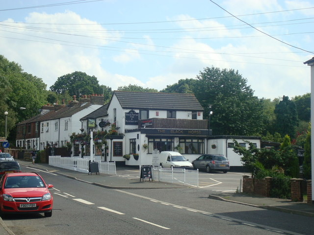 The Black Horse public house, Bean - geograph.org.uk - 1402829