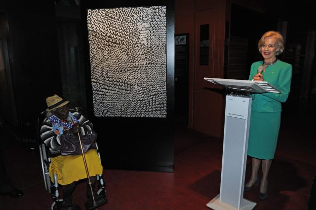 File:The Governor-General addresses Ms Lena Nyadbi and guests during the handover ceremony.jpg