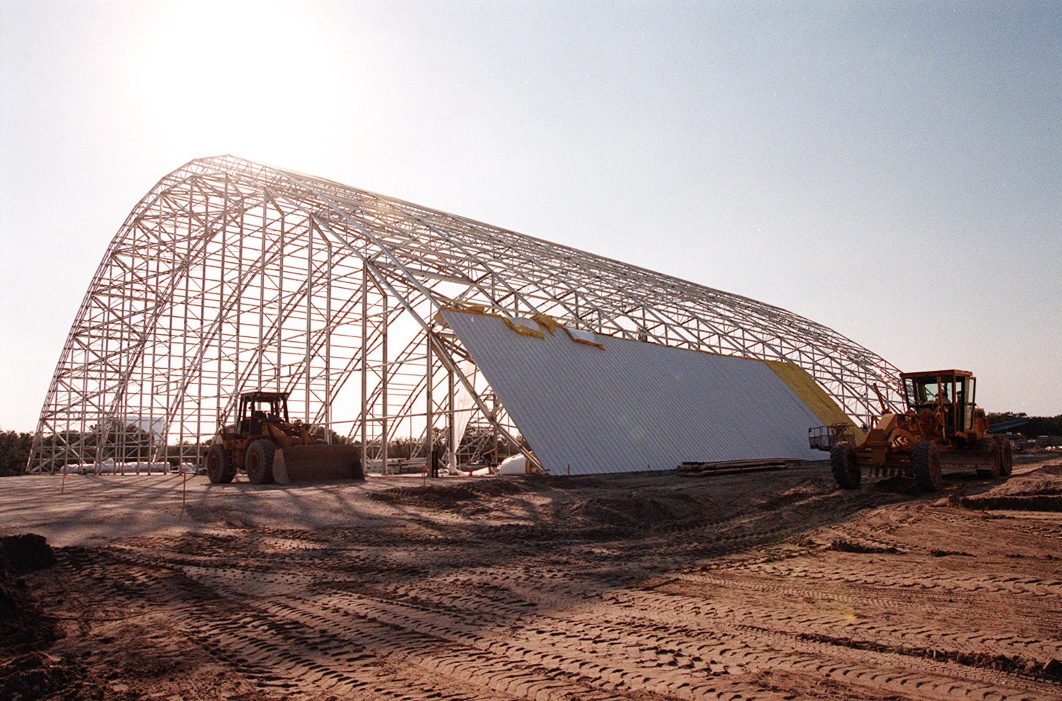 File:The first roof panels are placed on Reusable Launch