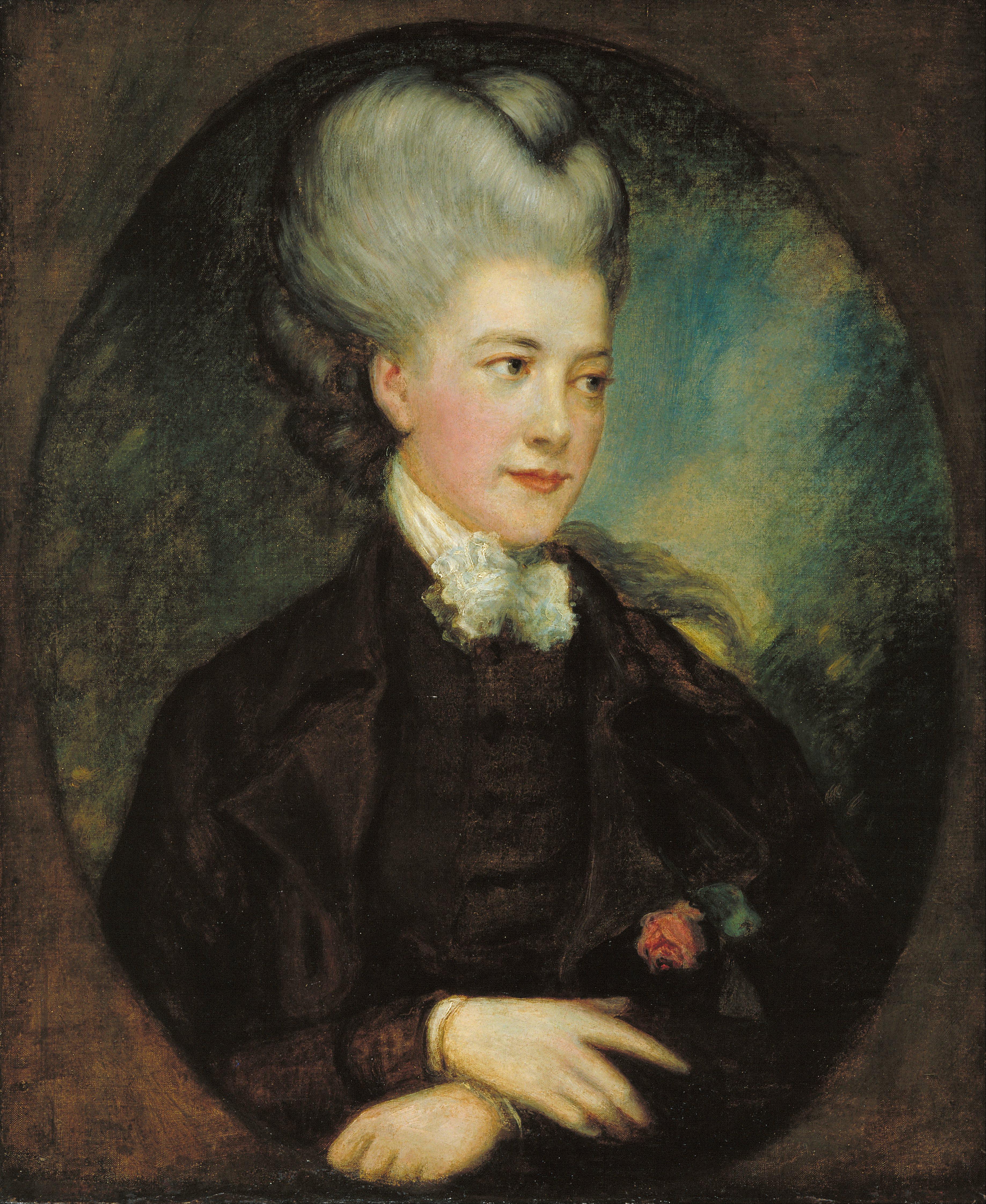 Countess Karen Spencer File Thomas Gainsborough Lady Georgiana Poyntz
