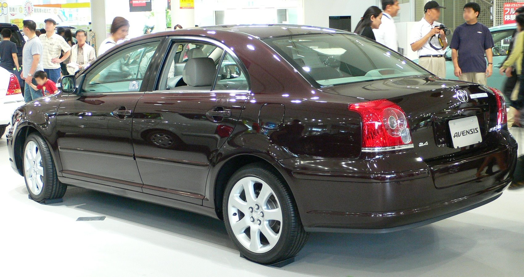File Toyota Avensis 2006 02 Jpg Wikimedia Commons