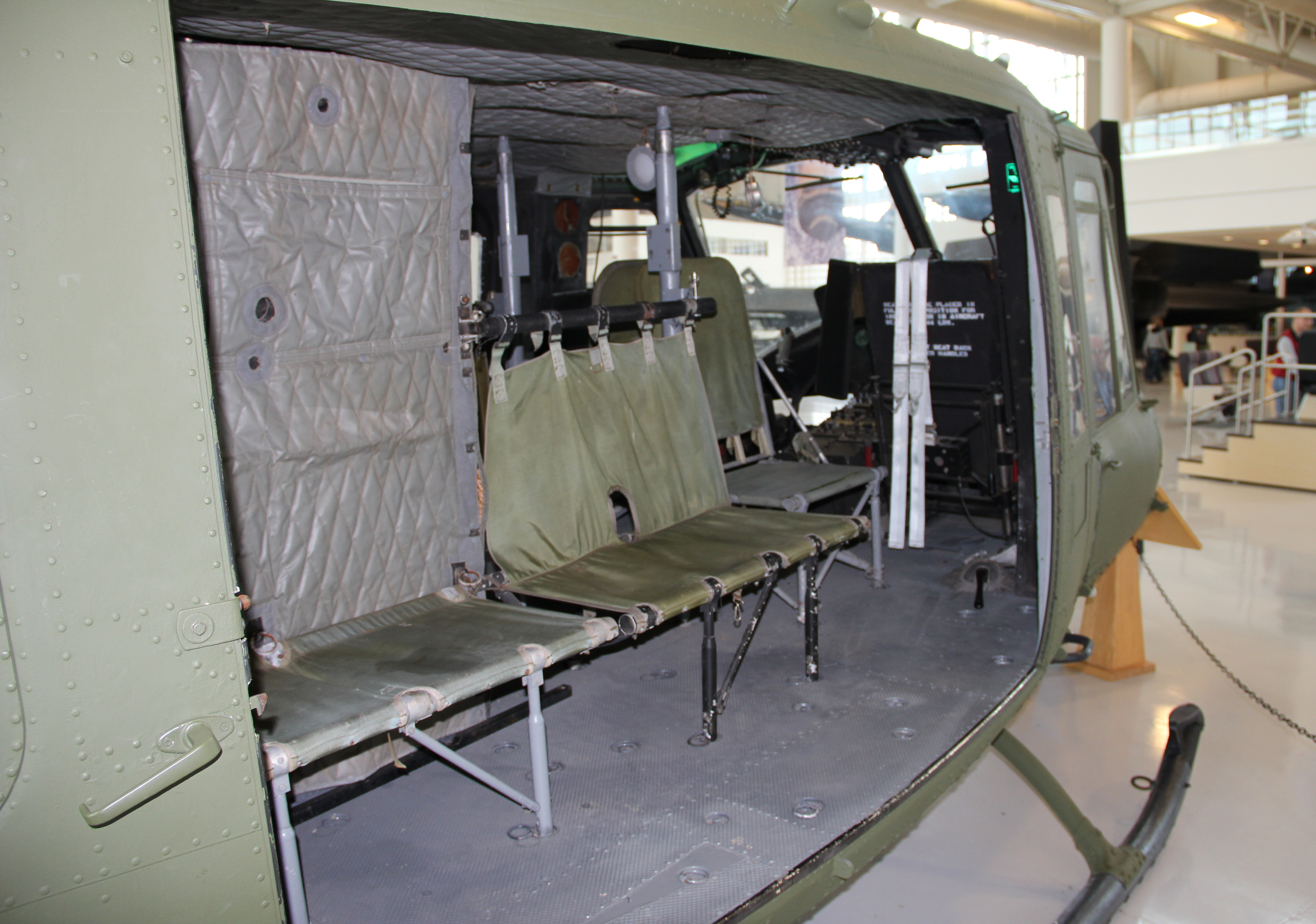 uh 60 helicopter with File Uh 1h Cabin At Evergreen Museum 20111227 on File A U S  Army crew chief scans for possible threats after his UH 60 Black Hawk helicopter departed Al Asad Airbase  Iraq  with Secretary of Defense Robert M  Gates aboard Sept 100901 F DQ383 005 also File Griffin HT1 Helicopter additionally Bell Ah 1w Super Cobra Helicopter likewise Collision Civilian Drone Army Helicopter further Pic Detail.