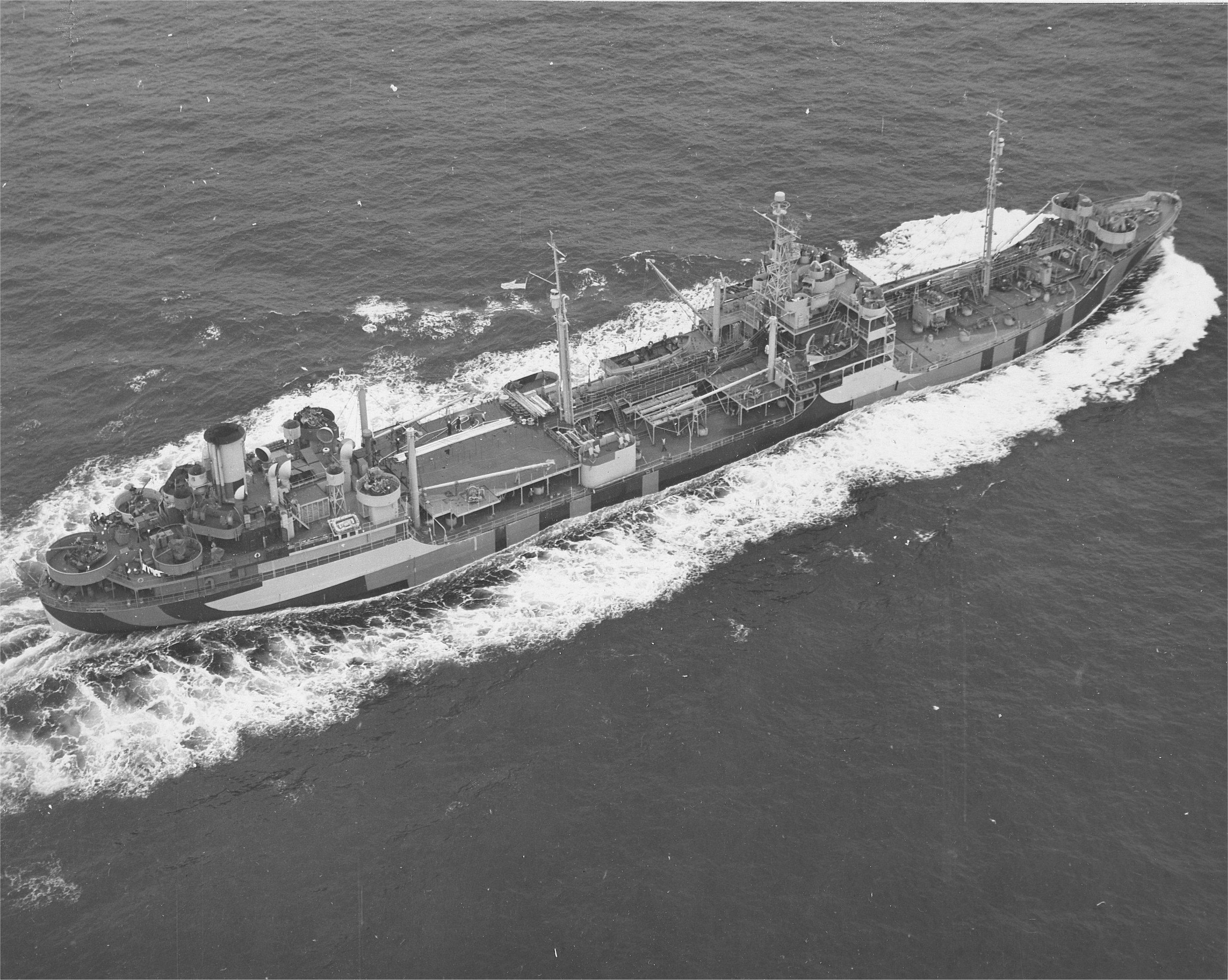 Pétrolier T2, USS Pamanset (AO-85) 1943, Impression 3D & Scratch au 1/200 - Page 14 USS_Sebec_%28AO-87%29