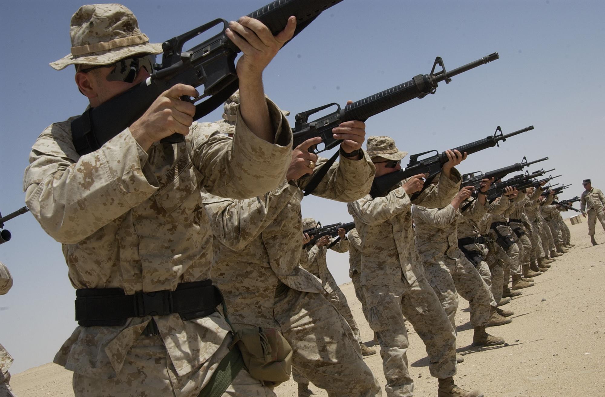 File:US Navy 050811-N-9288T-305 U.S. Marines assigned to Interim ...