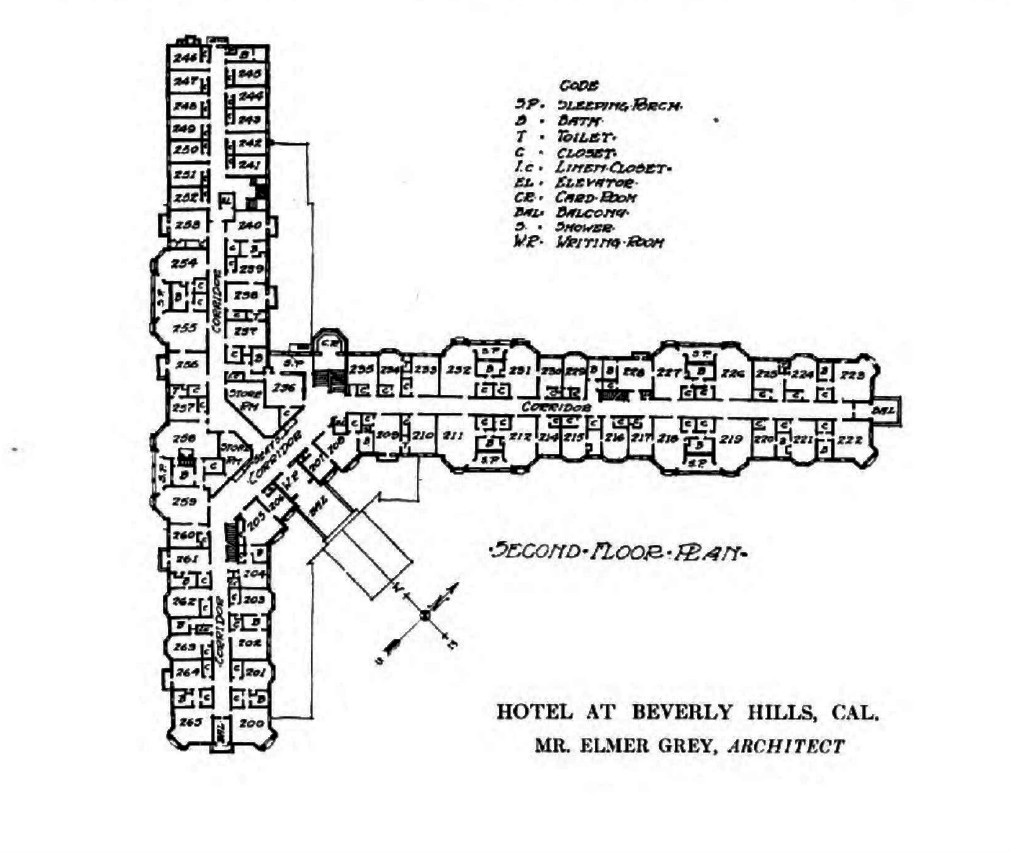 file upper floor plan for the beverly hills hotel 1913 jpg file upper floor plan for the beverly hills hotel 1913 jpg