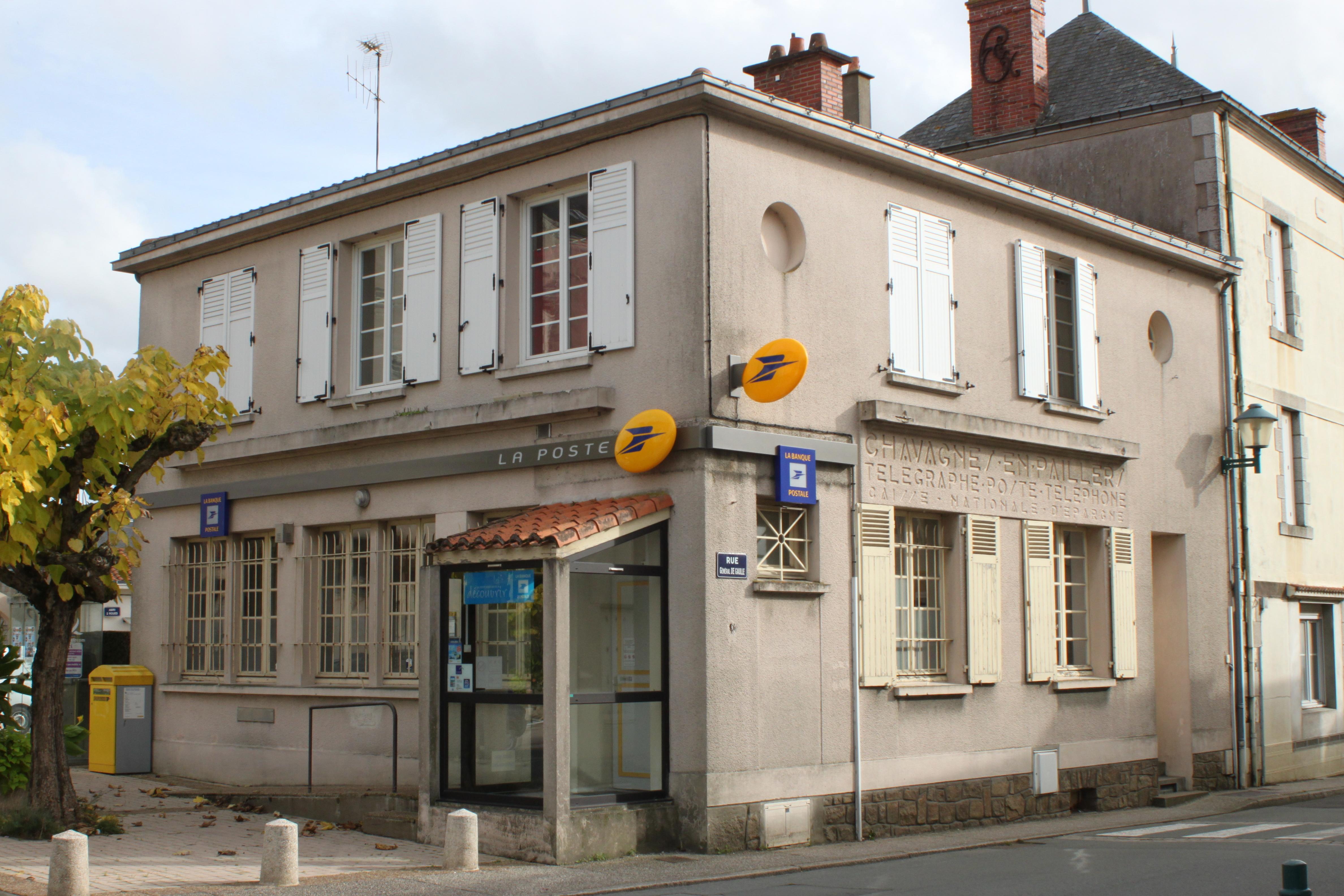 La Poste Le Poiré Sur Vie chavagnes-en-paillers - wikipedia