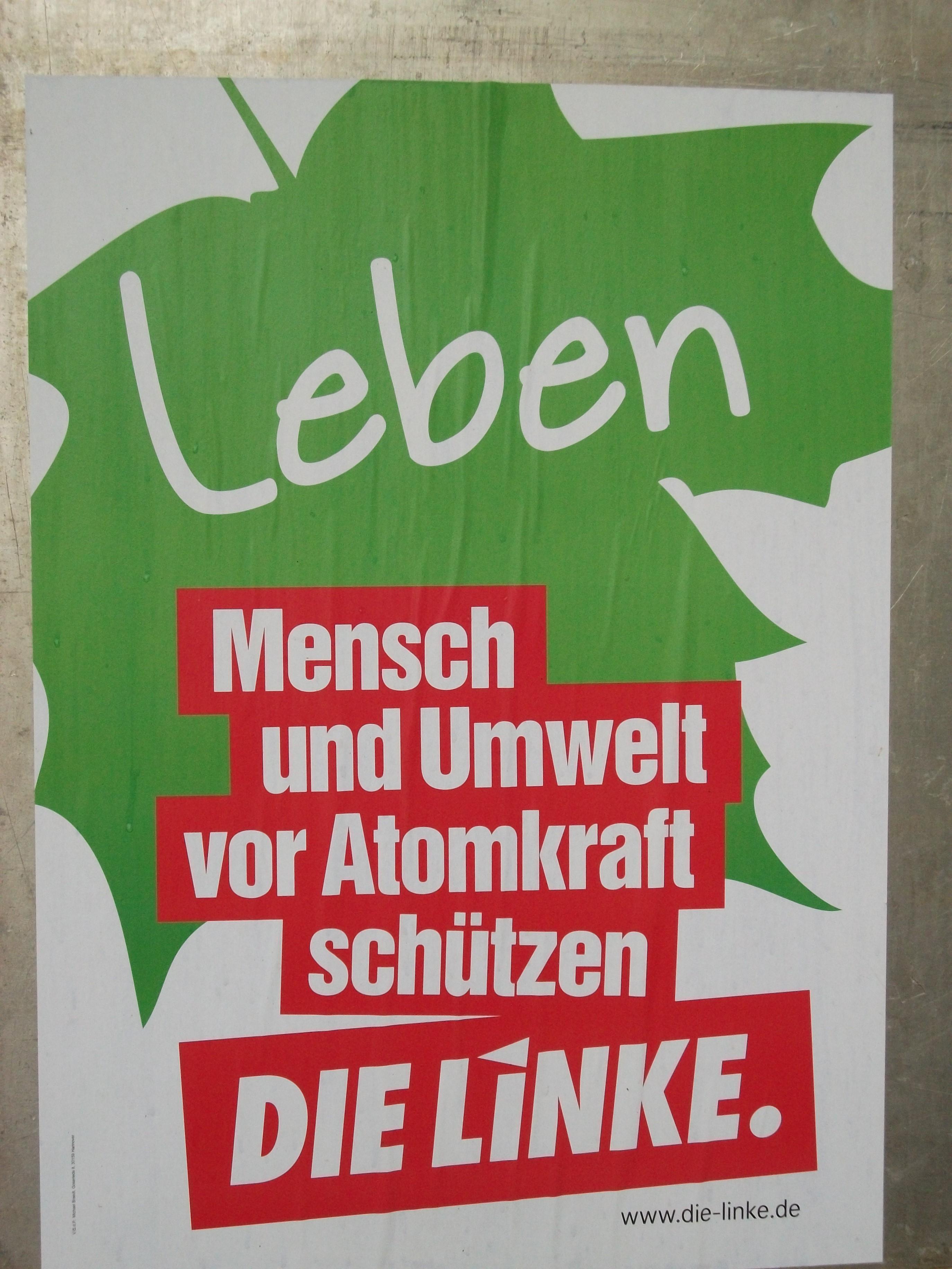 45 Unterstützer fordern Politikwechsel und bewerben LINKE als Garanten für  die Verhinderung von Rot-Schwarz