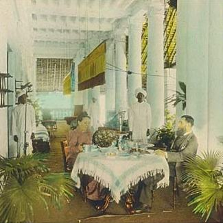 William Henry Jackson-Colonial dining