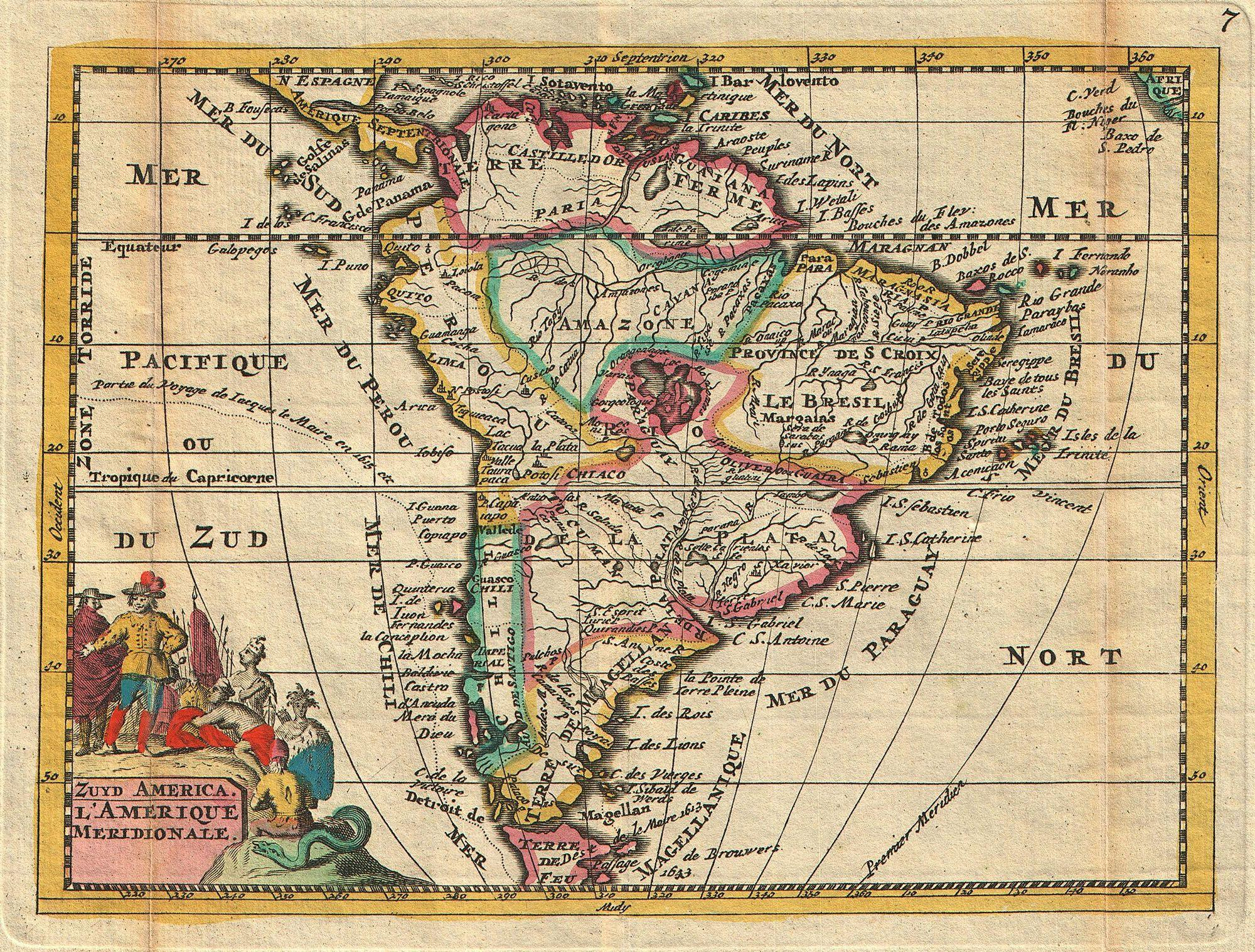 File:1747 La Feuille Map of South America - Geographicus ... on old maps of the netherlands, old map of pacific northwest, old map of british isles, old map of venezuela, old map of ancient rome, old timey of central america, old map of namibia, old map of india, old maps of north america, old map of hong kong, old map of bhutan, old map of arabian peninsula, old map north africa, old south plantation map, old map of belarus, old map of iraq, old map of bulgaria, old map of greenland, old map of iberian peninsula, old usa map,