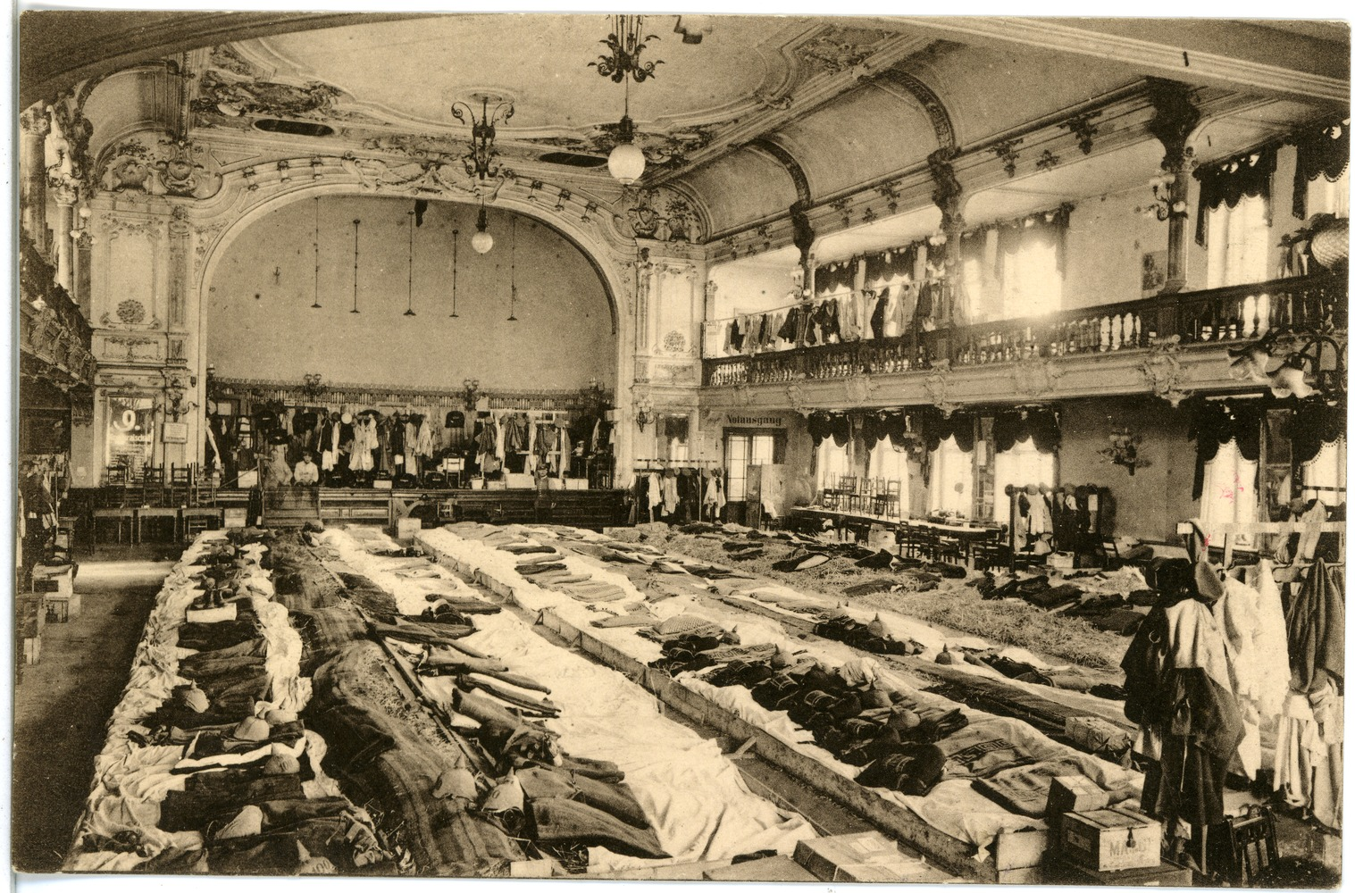 File:18895-Meißen-1915-Hotel Goldene Sonne, Saal Im Kriegsjahr 1915-Brück & Sohn Kunstverlag.jpg