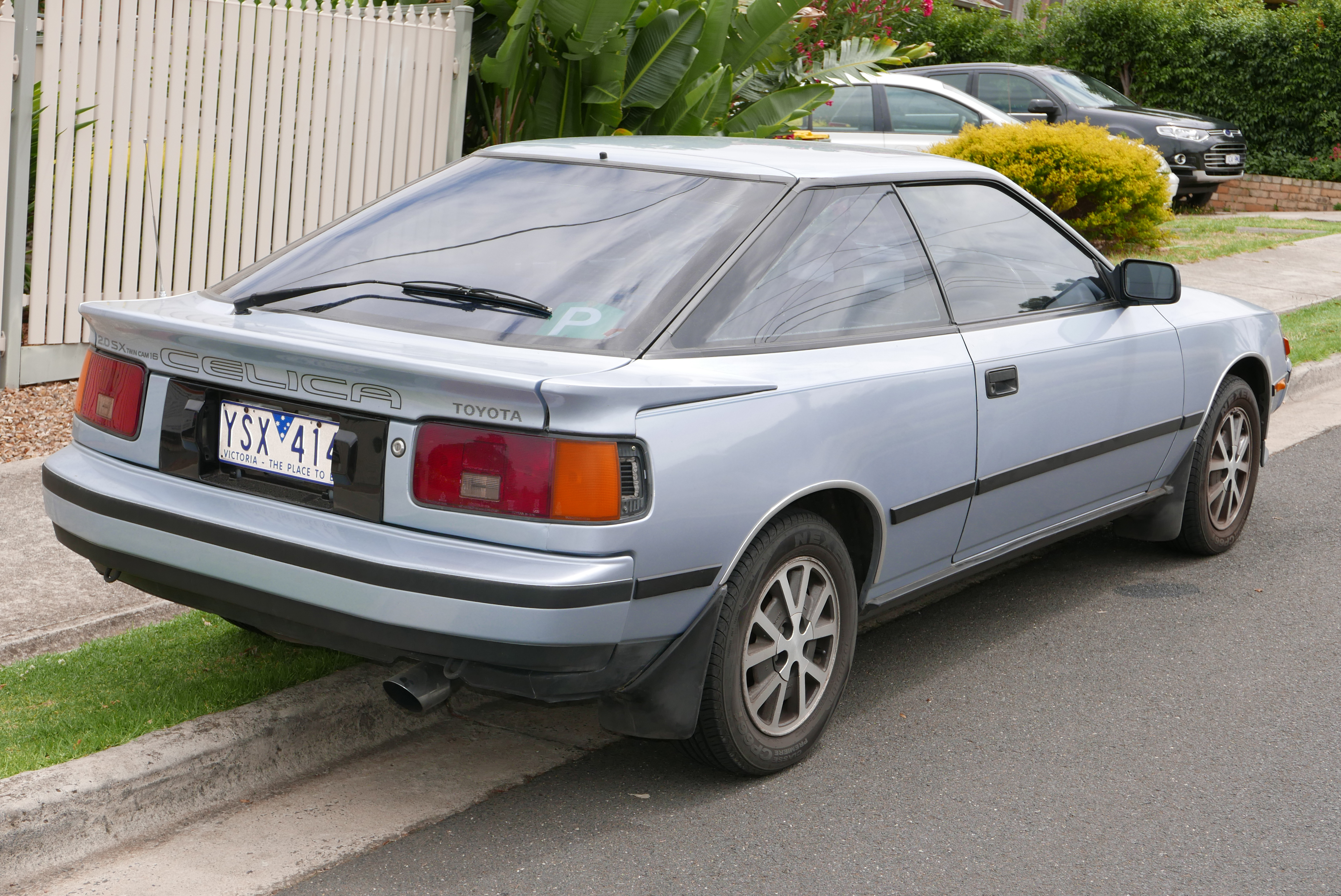 Toyota Celica 2016 >> File:1986 Toyota Celica (ST162) SX liftback (2016-01-04) 02.jpg - Wikimedia Commons