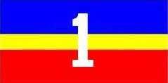 The 1 Service Battalion flag.