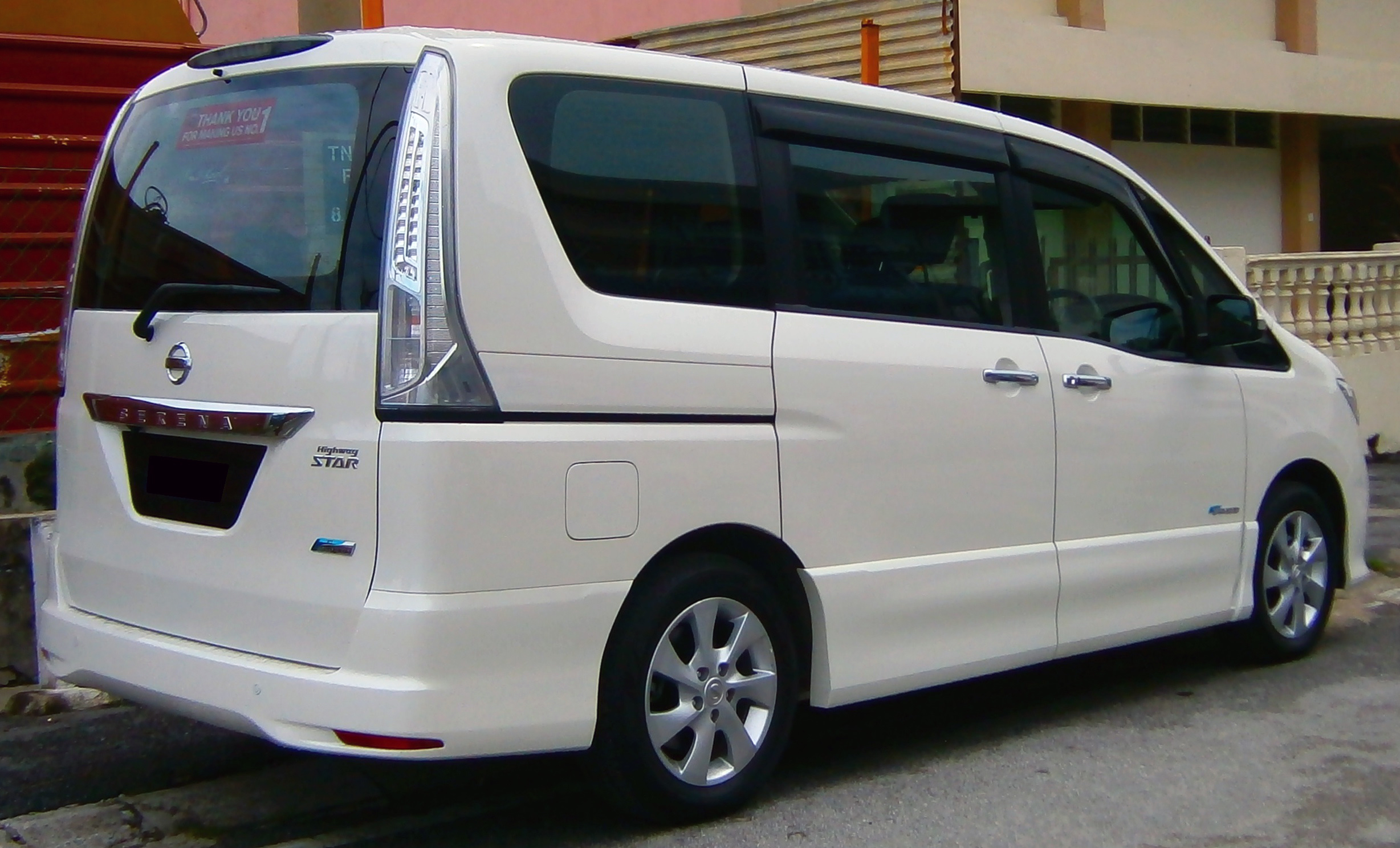 File 2013 Nissan Serena S Hybrid Highway Star In Ipoh