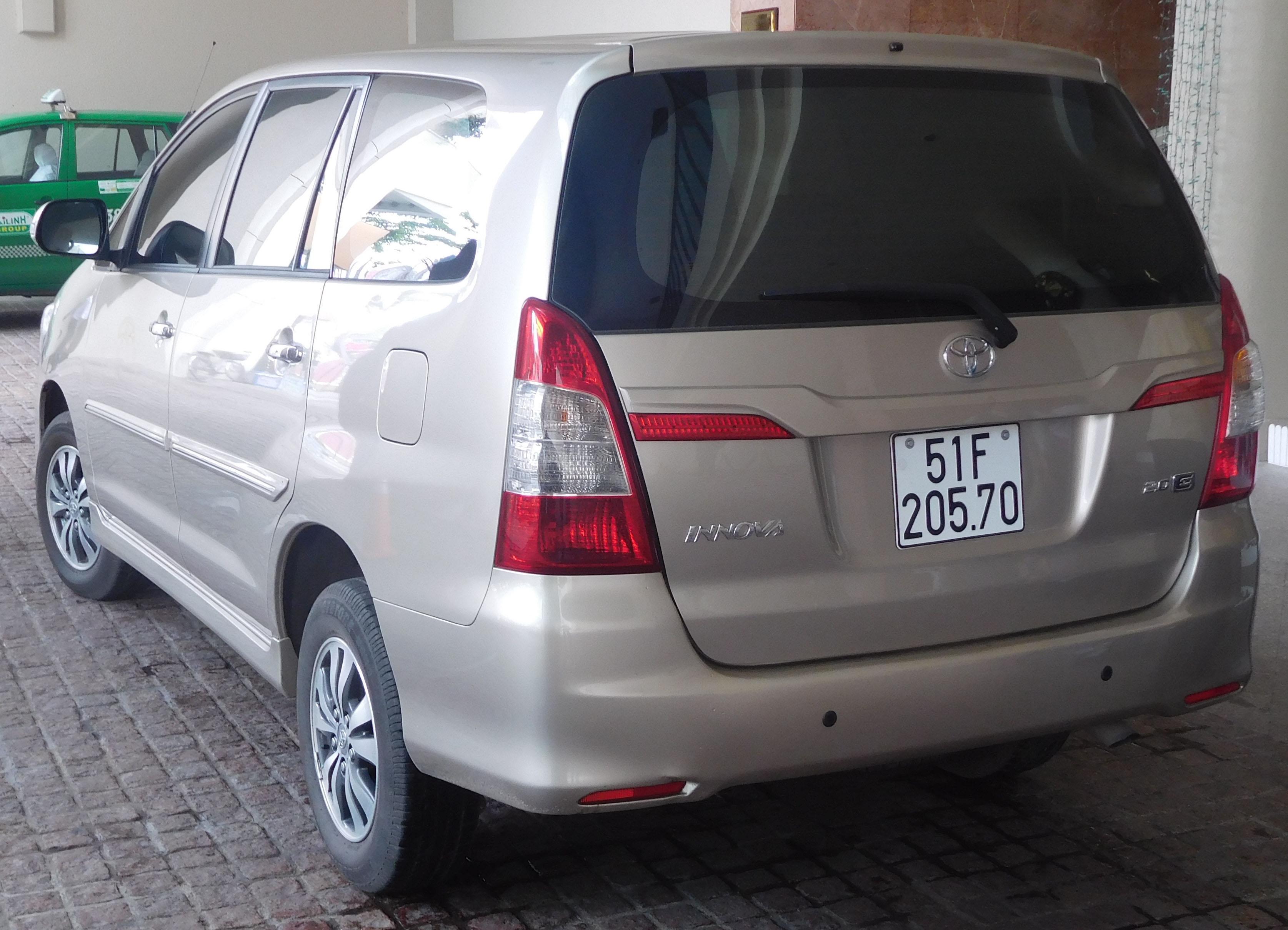 toyota - innova - 2.0 vvt-i (136 hp)