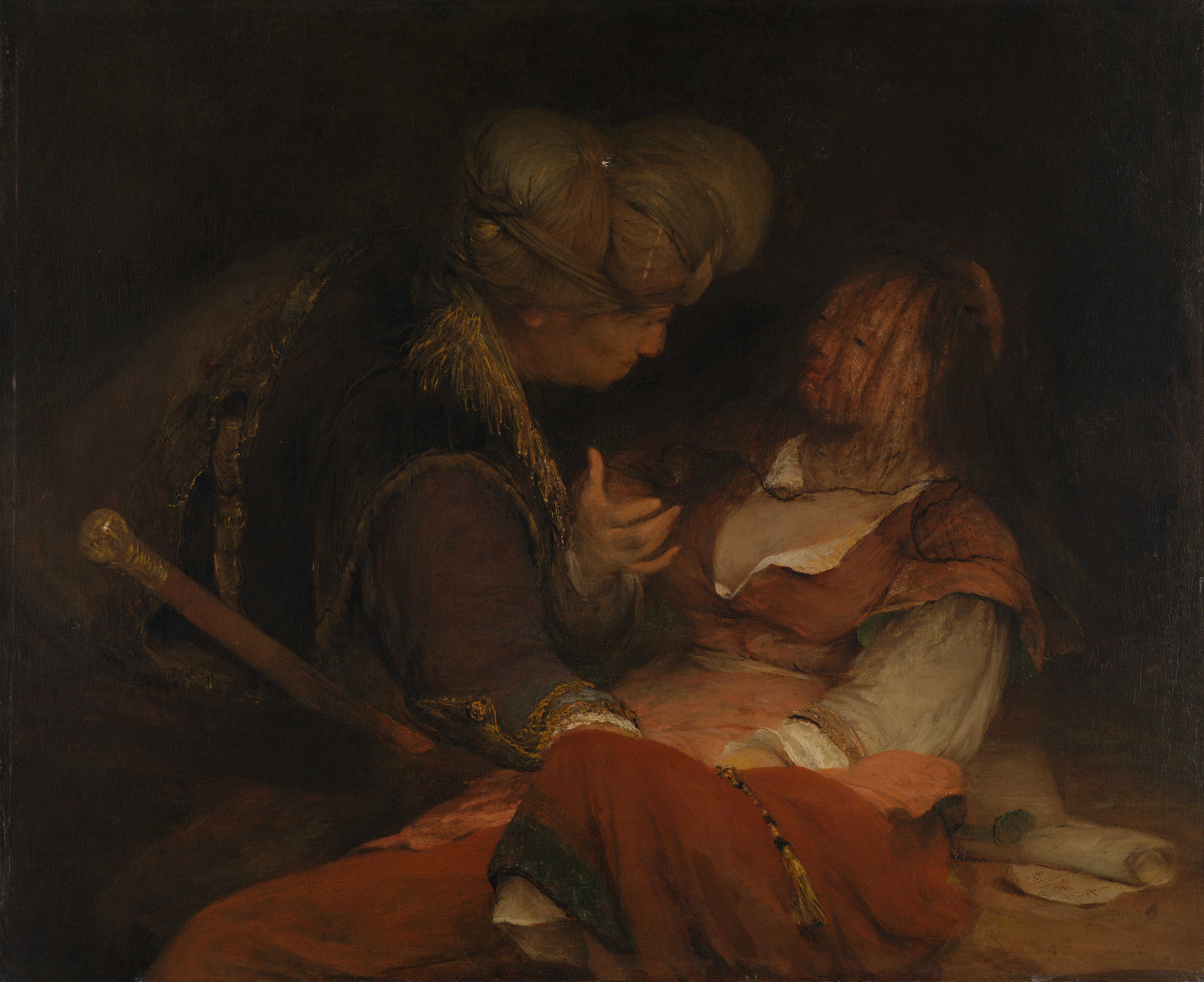 Gelder Oil Painting