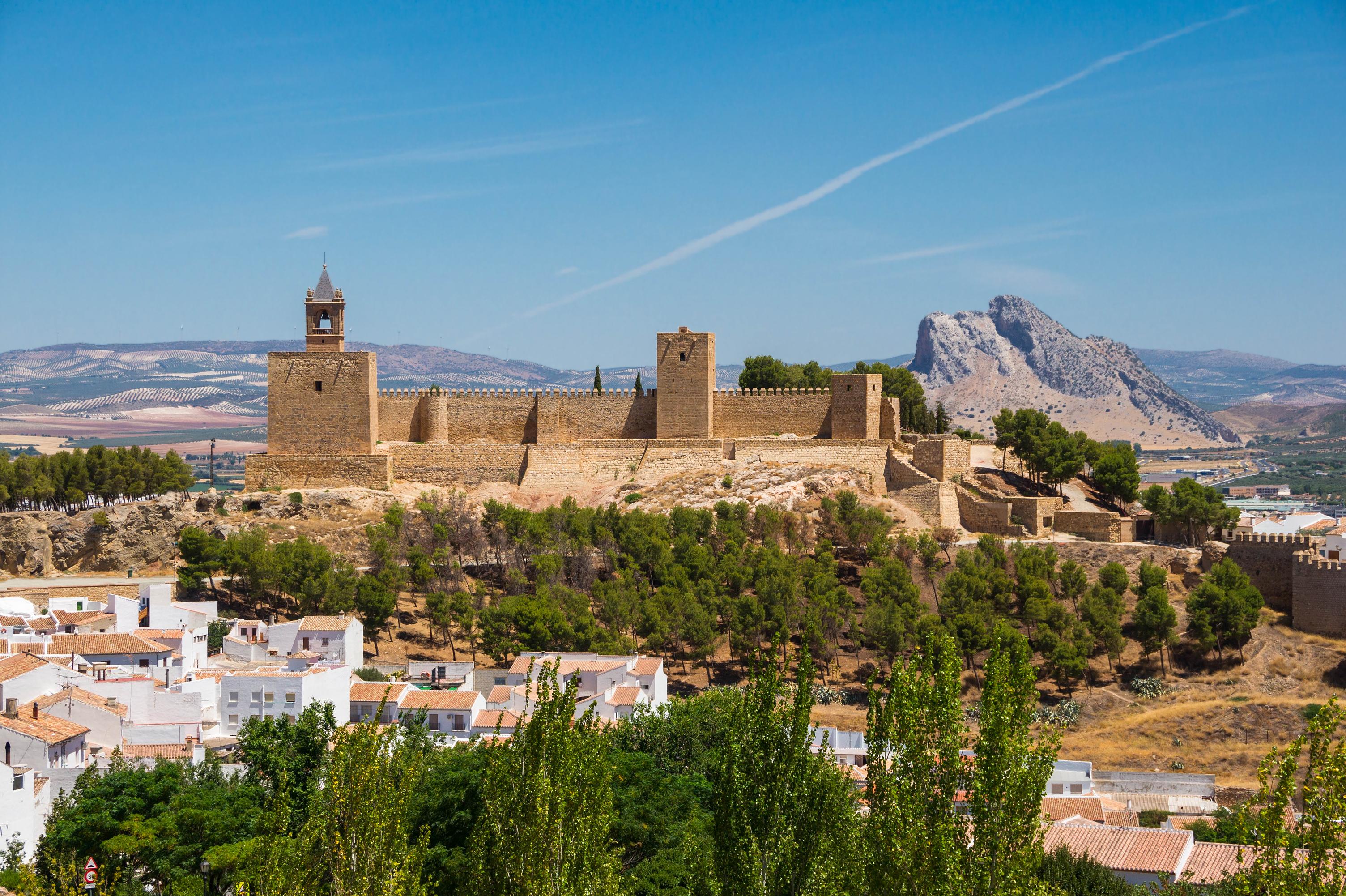 Antequera Spain  city photo : Description Alcazaba Antequera
