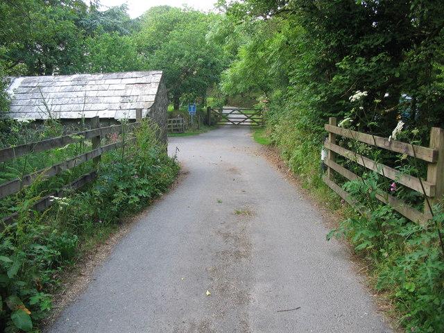 Approaching Roseny Mill - geograph.org.uk - 196546