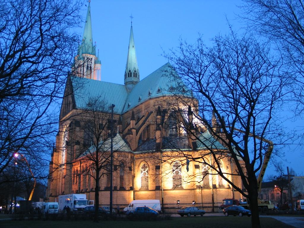 katedra po zmorku
