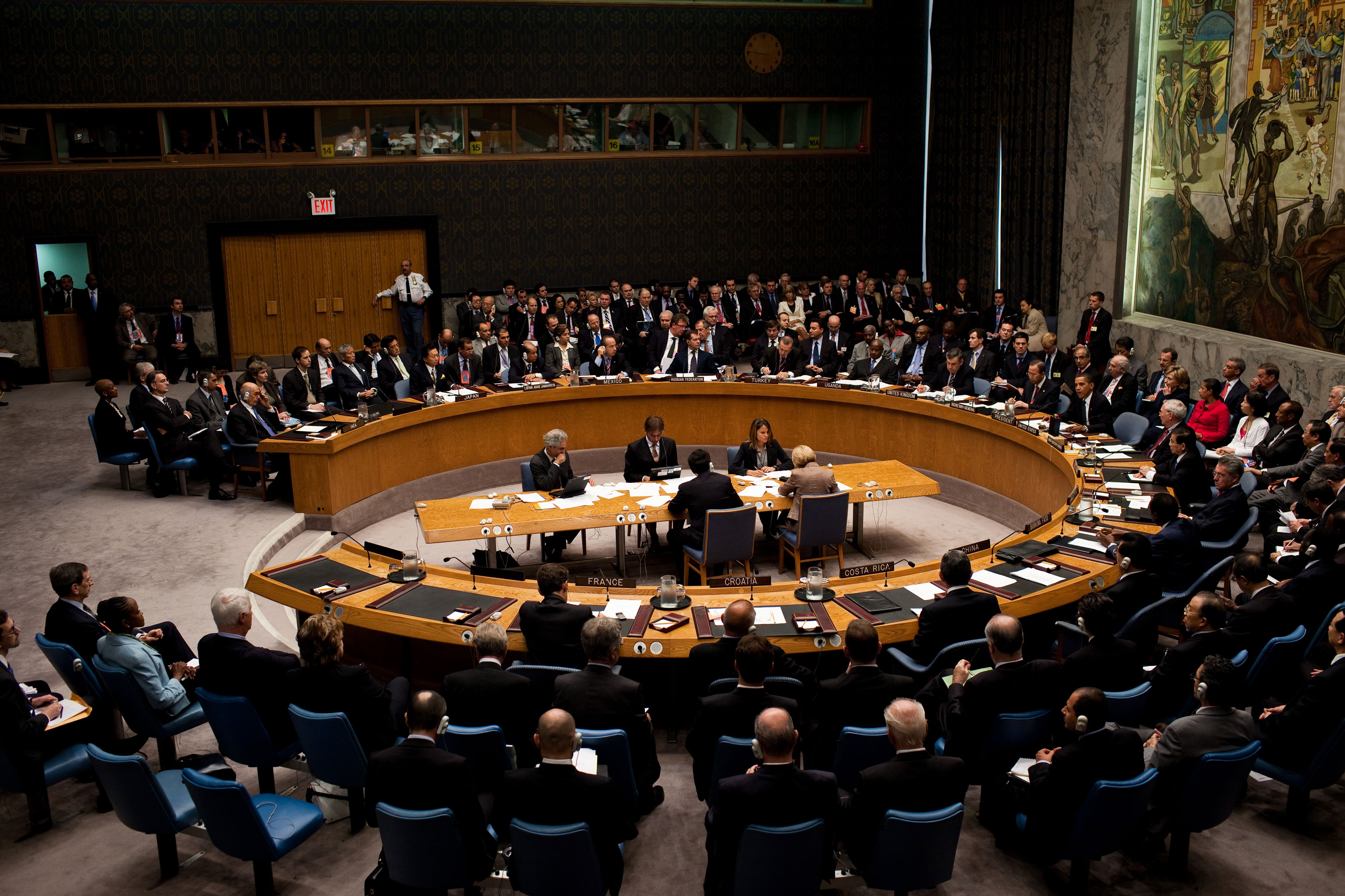 List of members of the United Nations Security Council