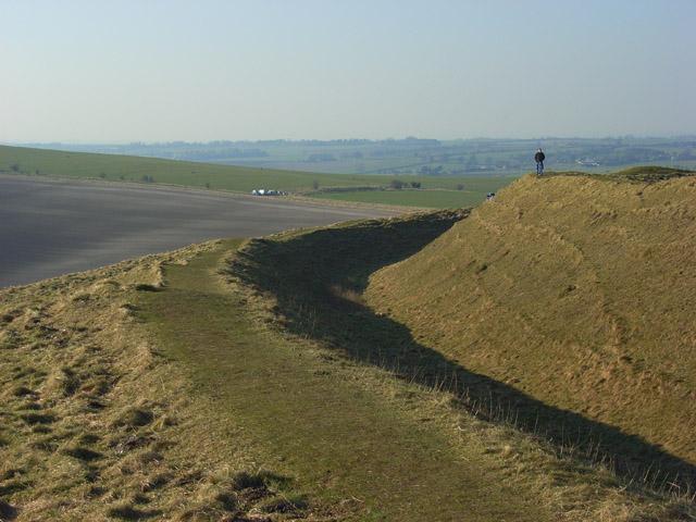 Barbury Castle - geograph.org.uk - 701655