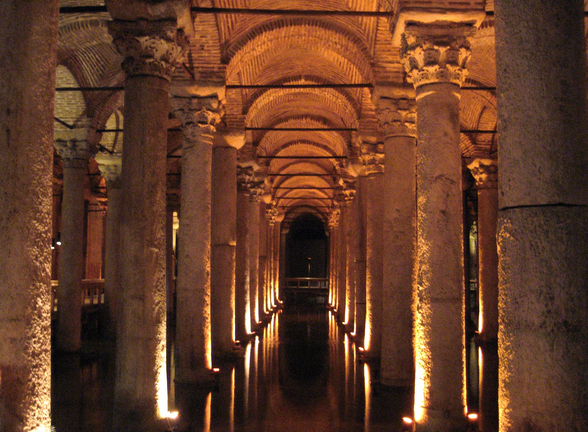 File:Basilica Cistern, Constantinople.jpg - Wikimedia Commons