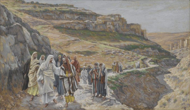 Brooklyn Museum - Jesus Discourses with His Disciples (Jésus s'entretient avec ses disciples) - James Tissot