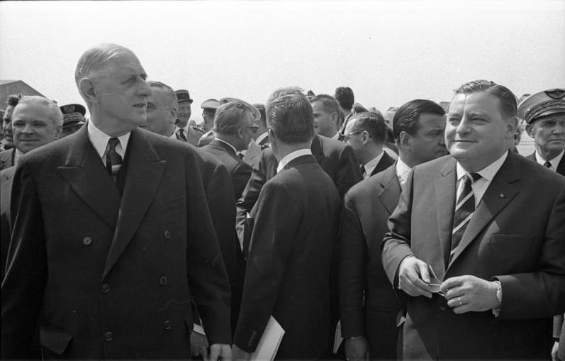 Franz. Staatspräsident 1962