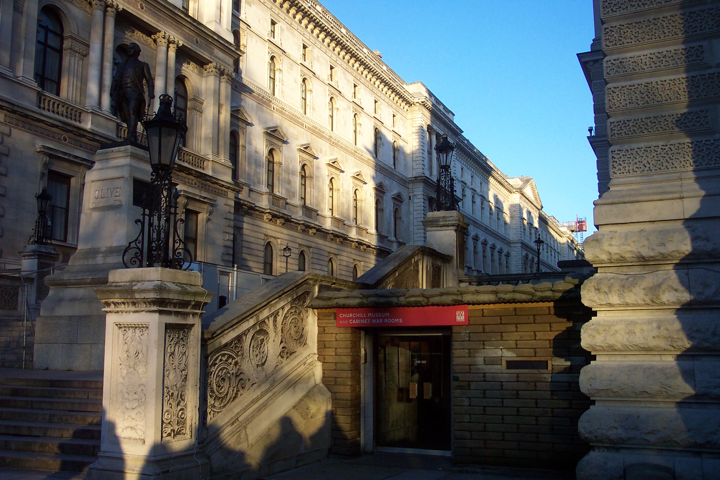 Churchill museum and cabinet war rooms wikiwand - Churchill war cabinet rooms ...