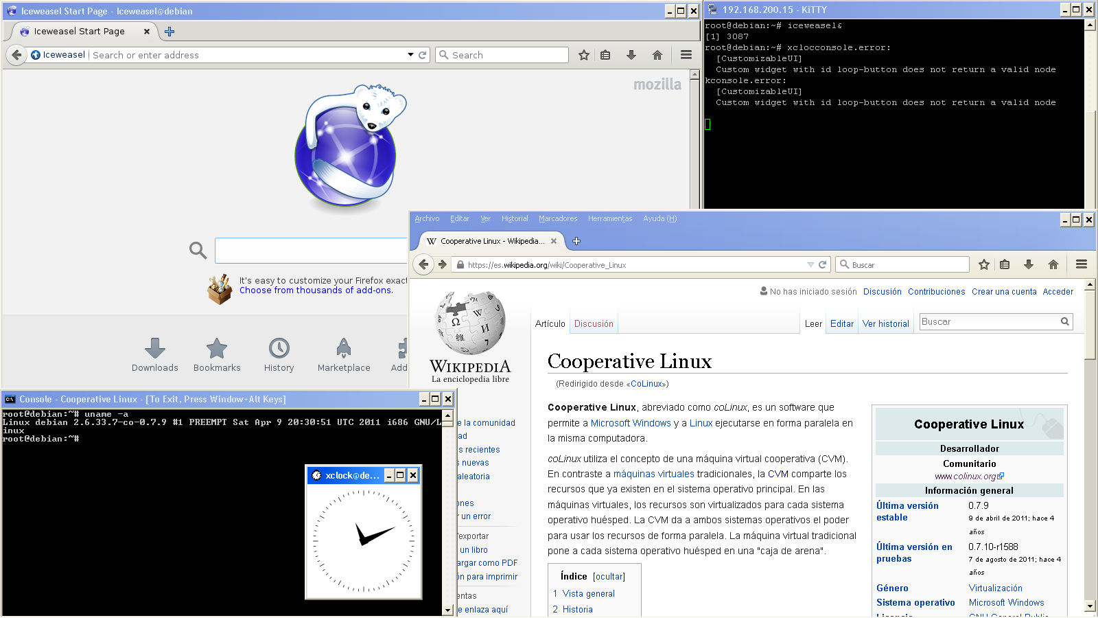 File:Captura de pantalla de Windows XP y Colinux, corriendo Firefox