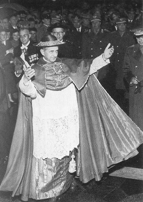 Montini som erkebiskop av Milano rundt 1956