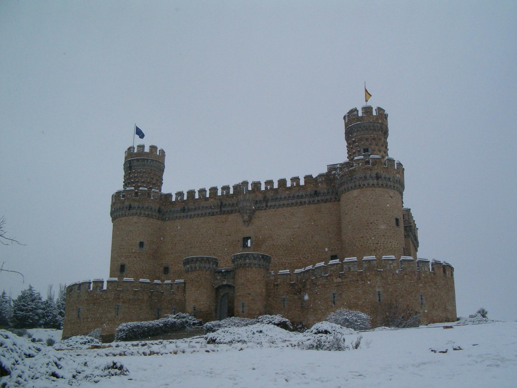 File castillo manzanares el wikimedia commons - Casa en manzanares el real ...