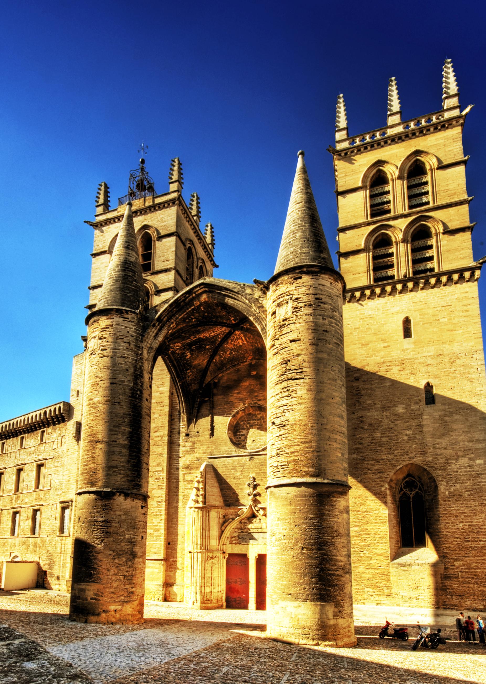 File cath drale saint pierre de wikimedia commons - Cathedrale saint pierre de montpellier ...