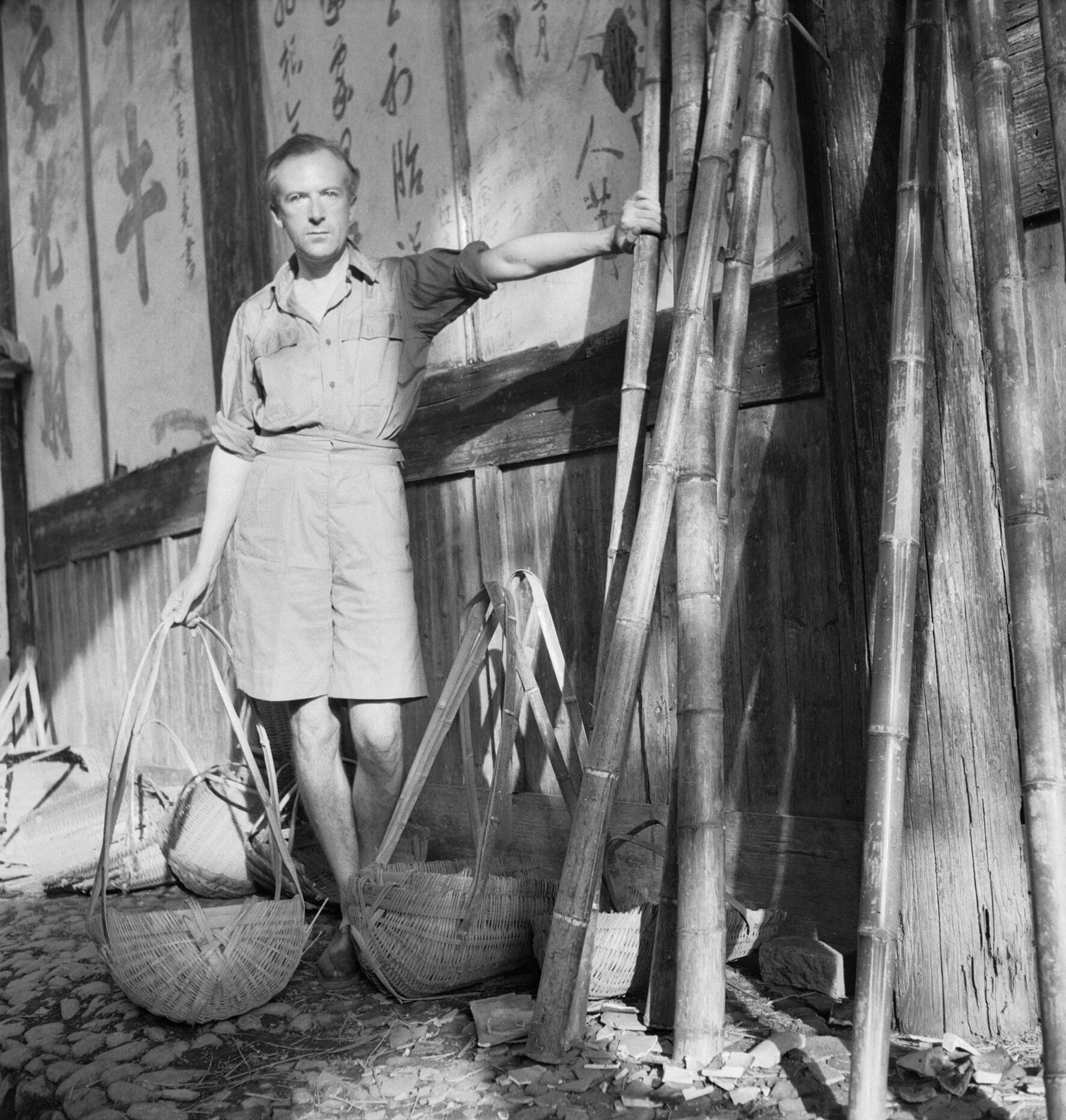 Cecil Beaton in China during the Second World War