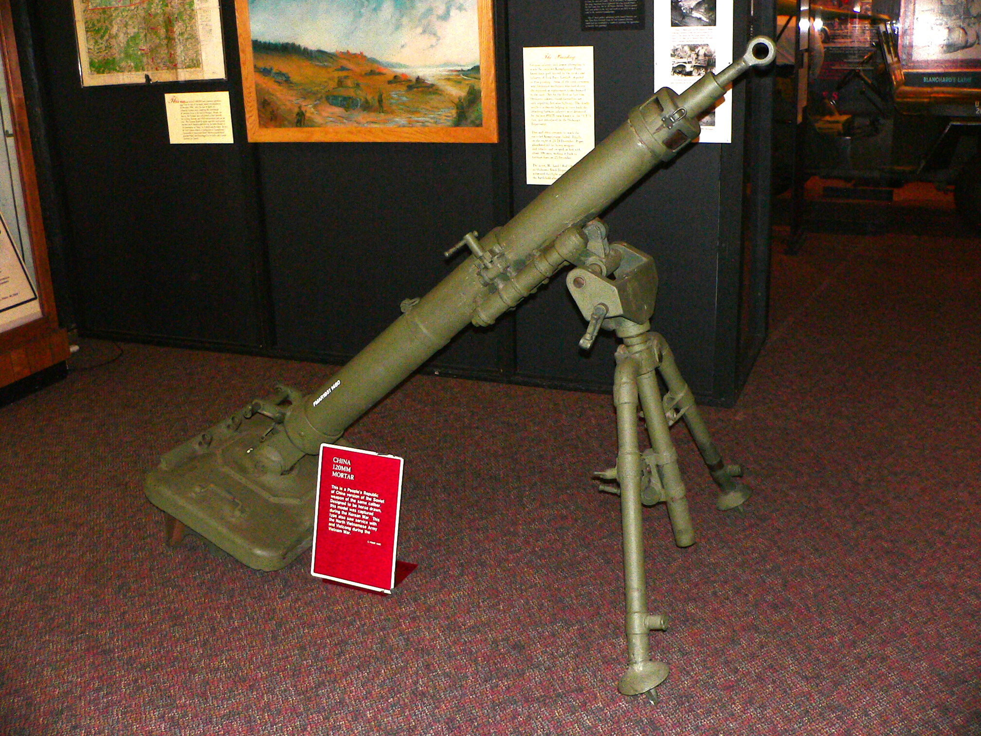 Military Mortar Sizes : File chinese mm mortar g wikimedia commons