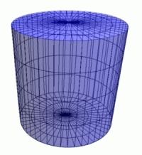 Un exemple de cylindre de révolution