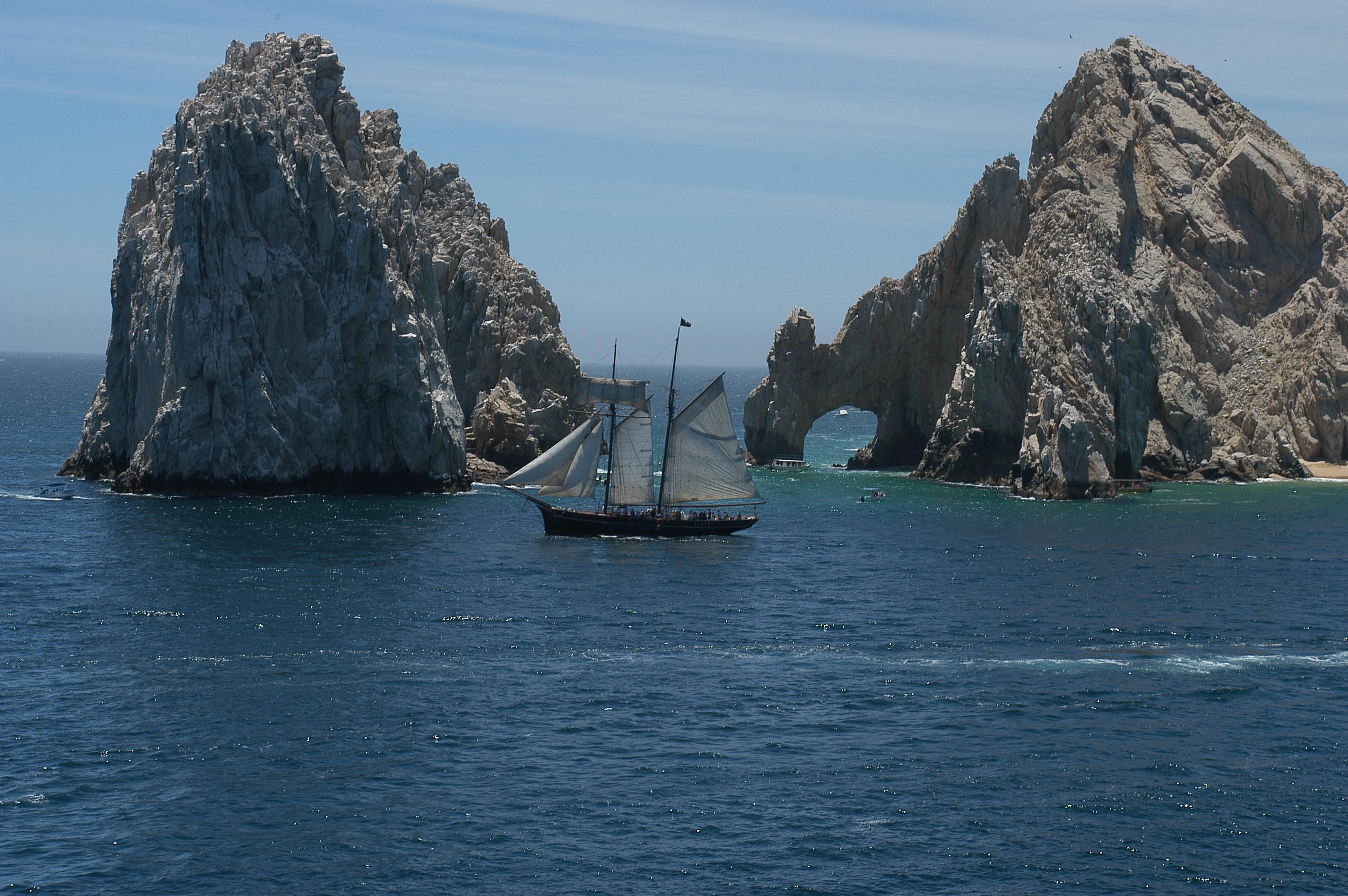 File Clipper Ship At Los Arcos Cabo San Lucas Jpg