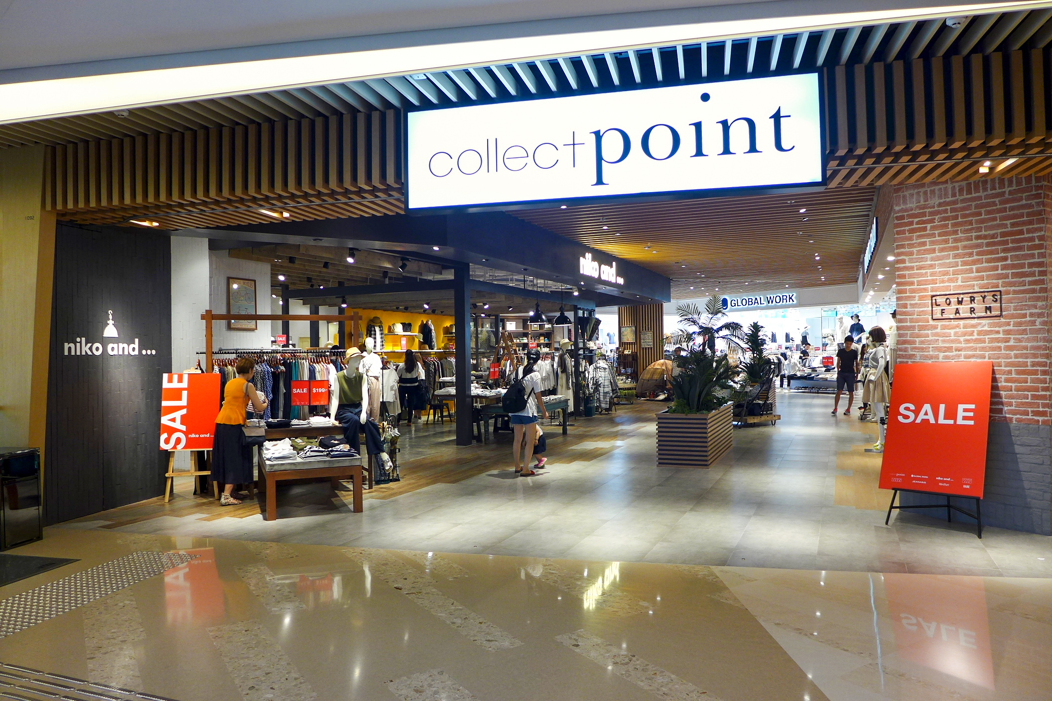 Collect Point on