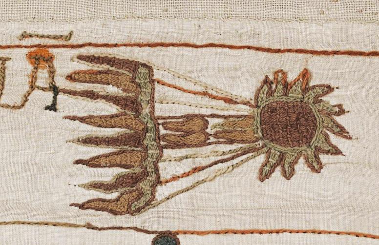 Cometa Halley en el Tapiz de Bayeux