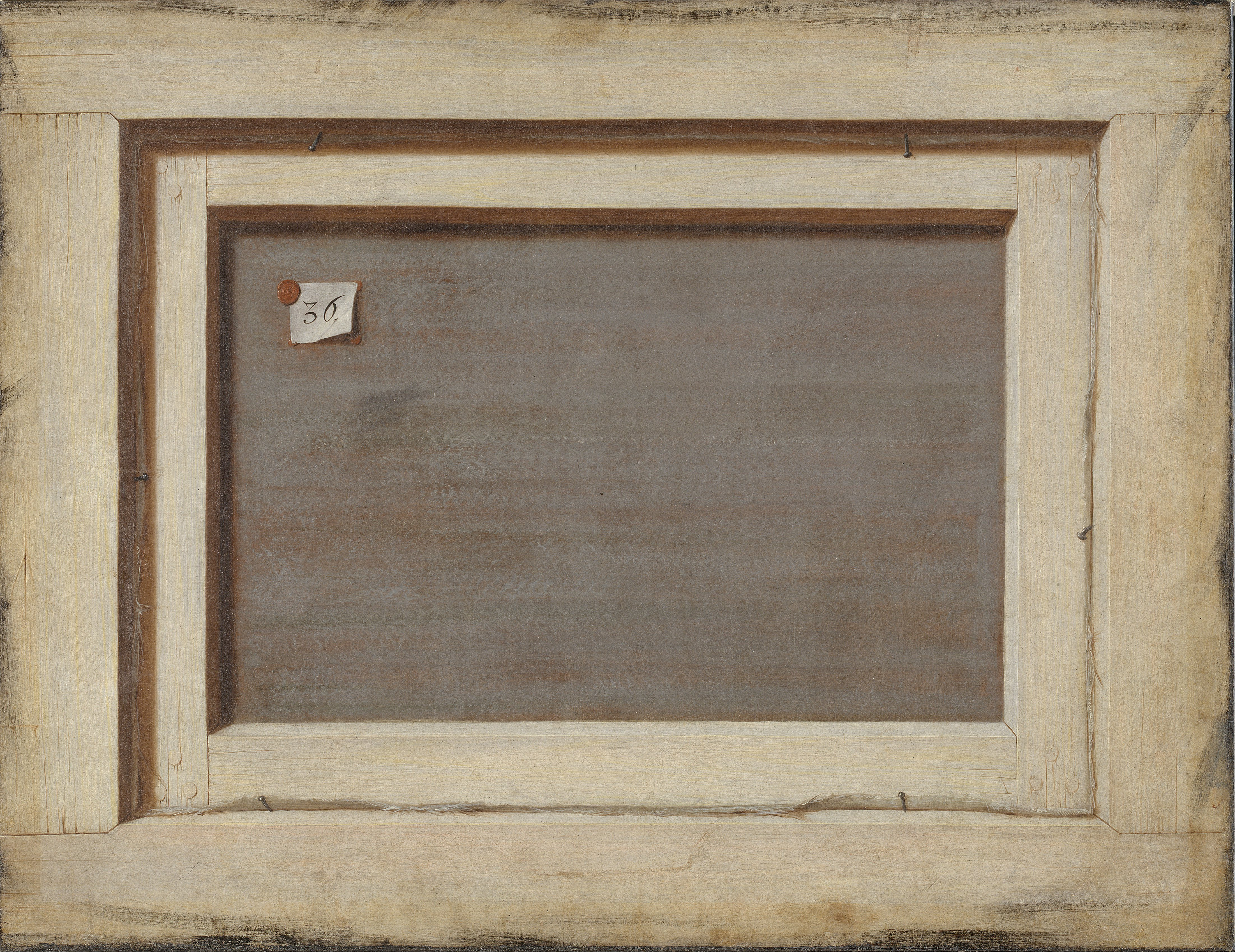 File:Cornelius Norbertus Gijsbrechts - Trompe l\'oeil. The Reverse of ...