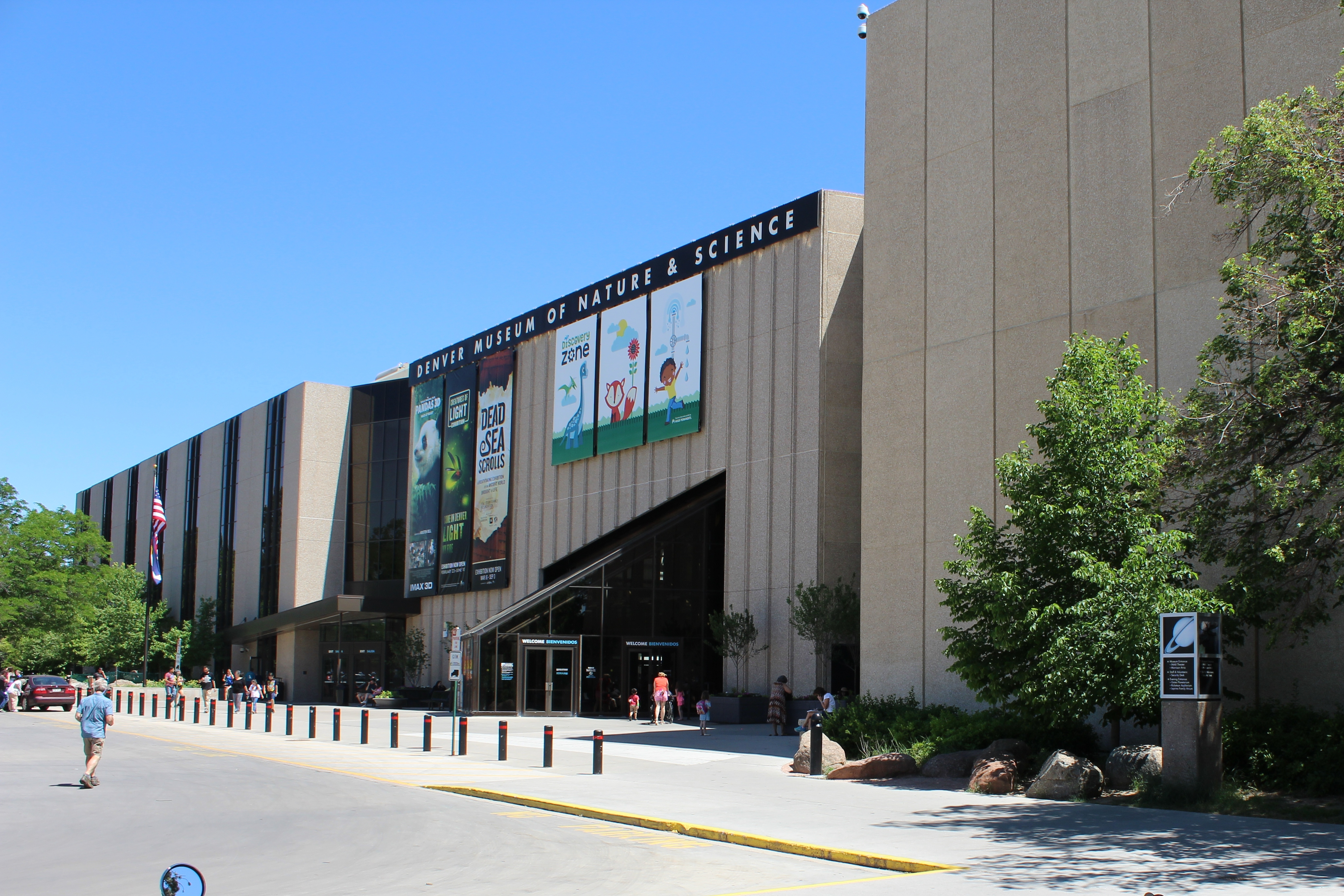 Denver Museum of Nature and Science View from north west.jpg
