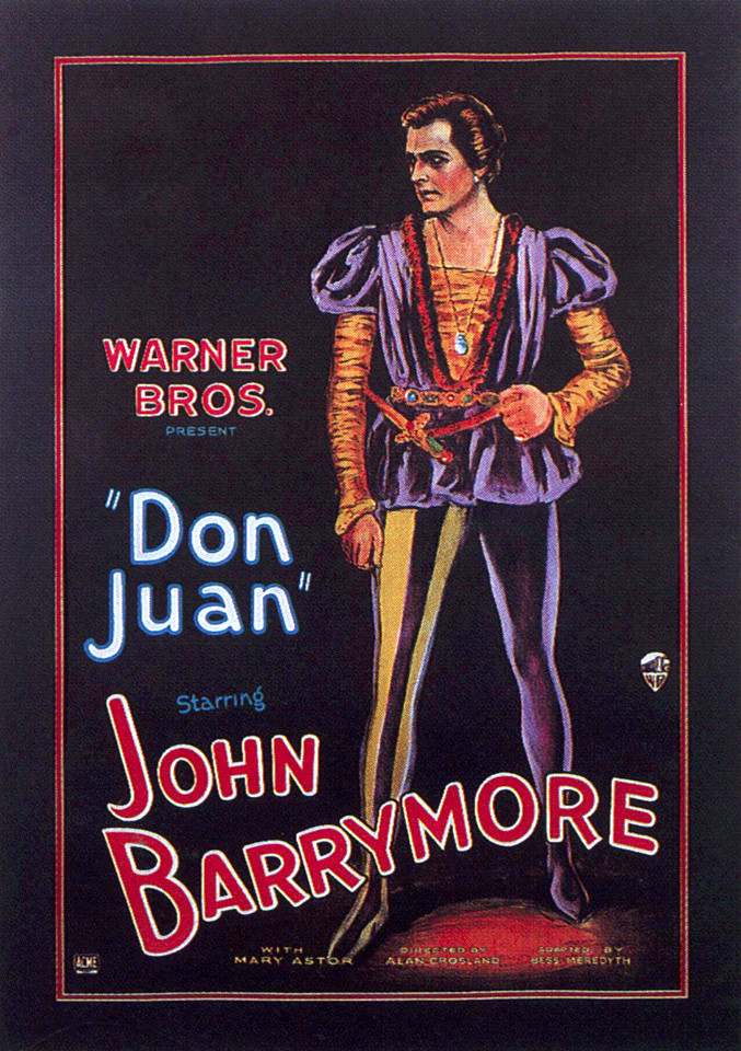 Image result for DON JUAN 1926