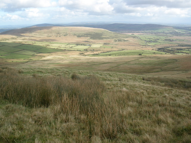 Easterly view, from Foel Cwmcerwyn - geograph.org.uk - 1001053