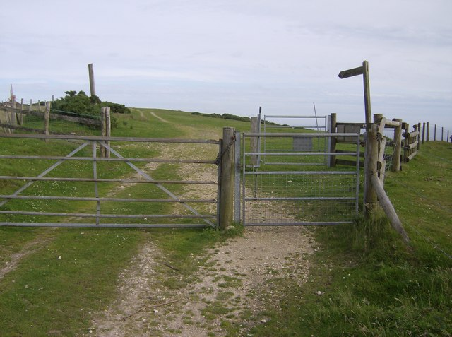 Entrance to Limerstone Down - geograph.org.uk - 502223