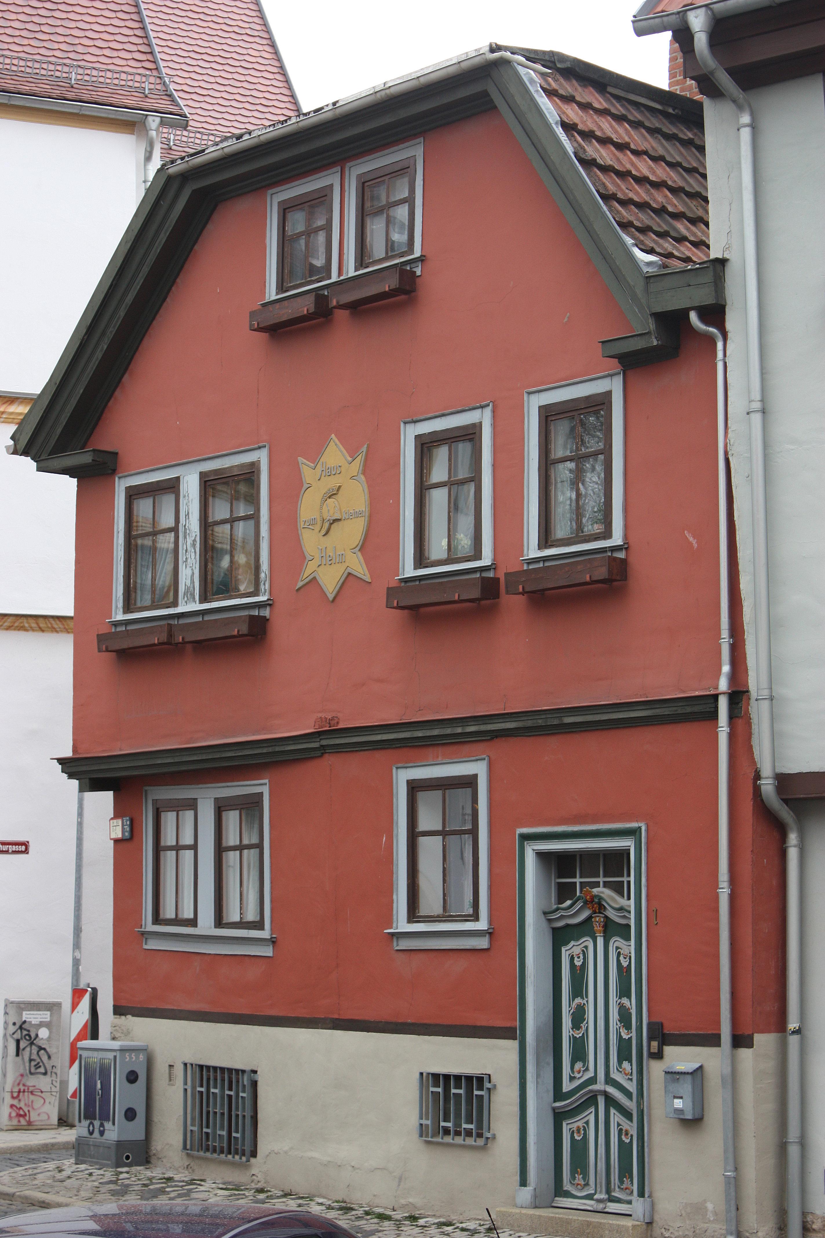 File erfurt haus zum kleinen helm jpg wikimedia commons for Esprit haus erfurt