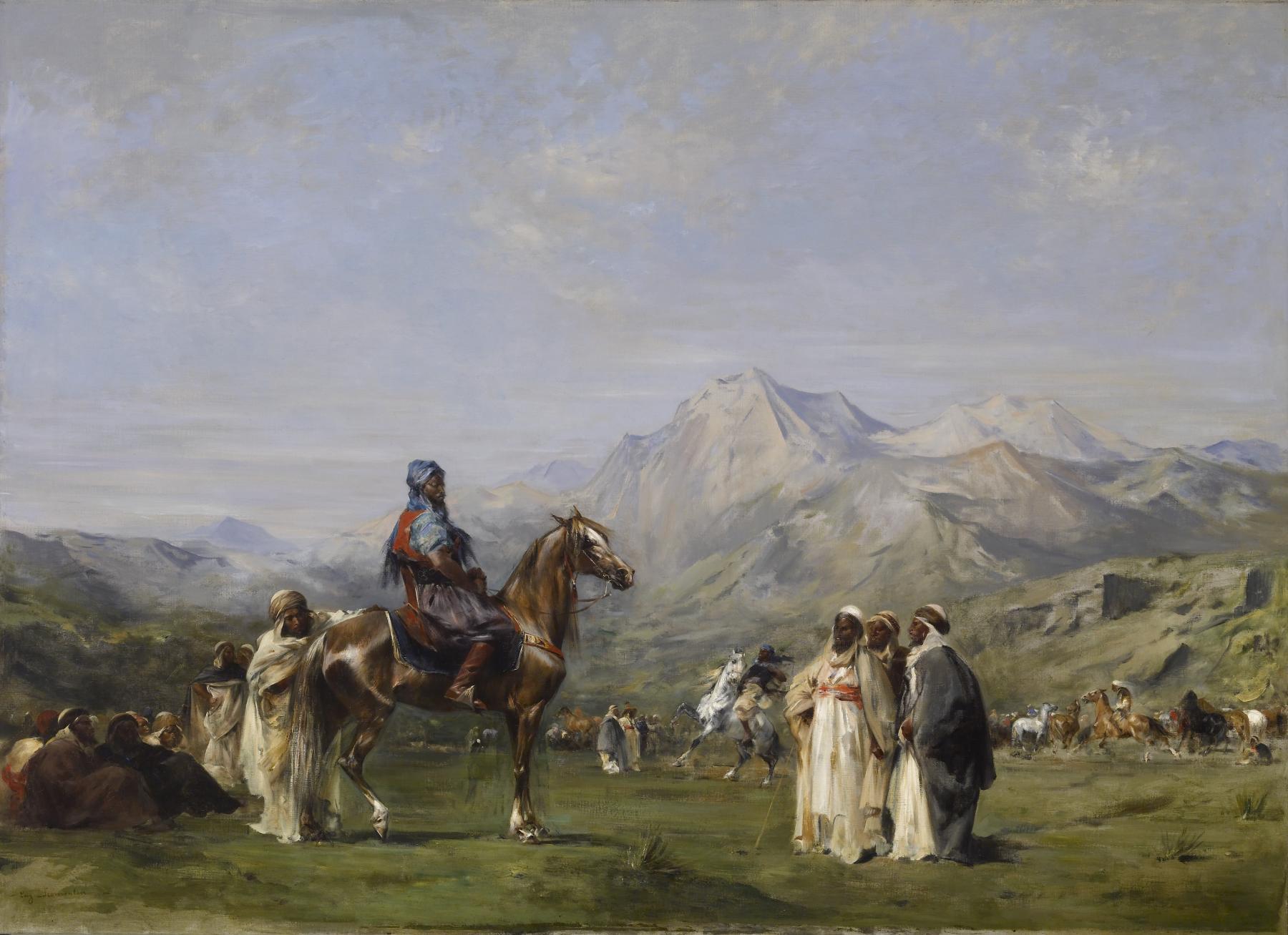Resultado de imagen de Eugène Fromentin