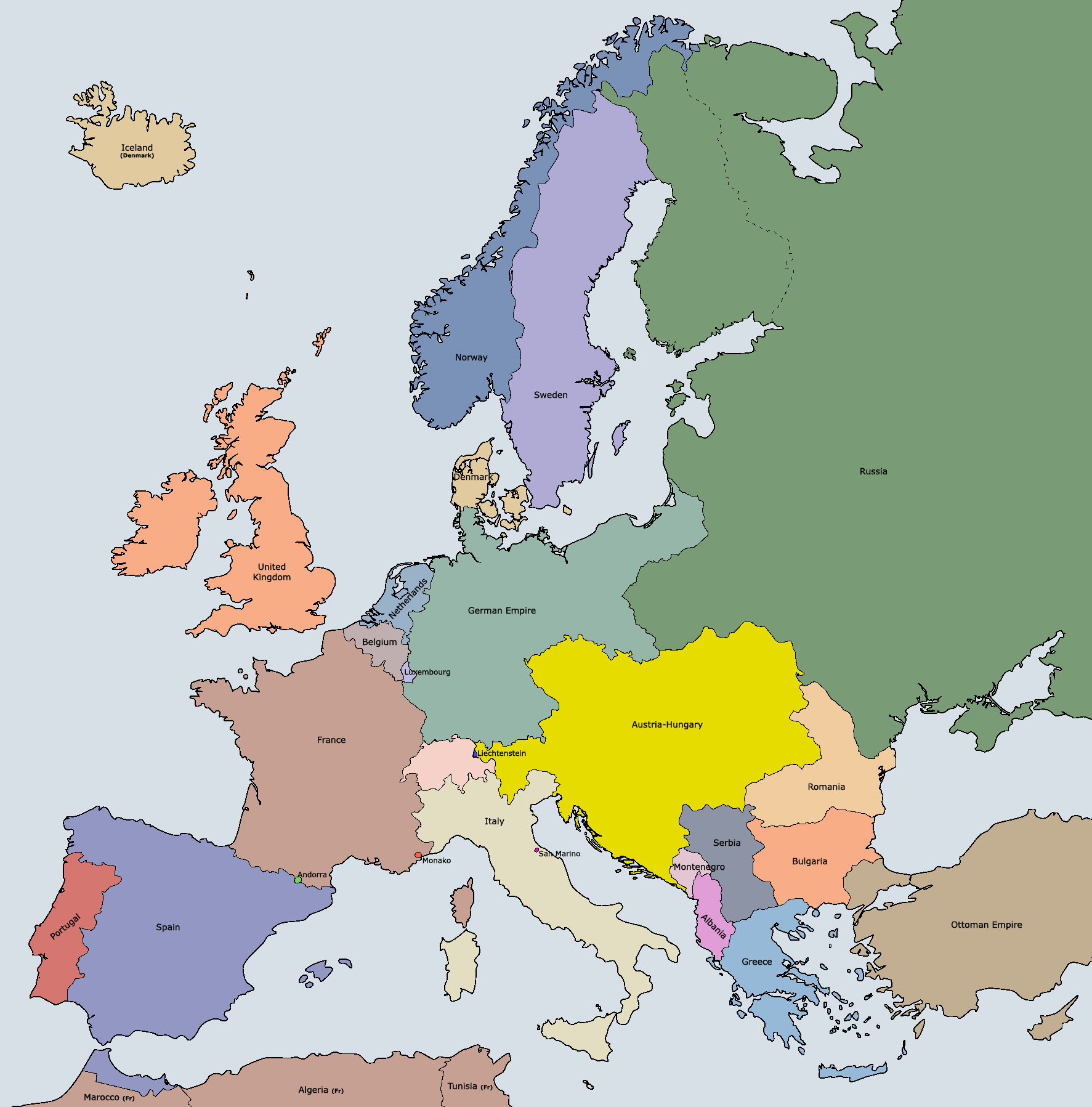 File Europe 1914 coloured png Wikimedia Commons