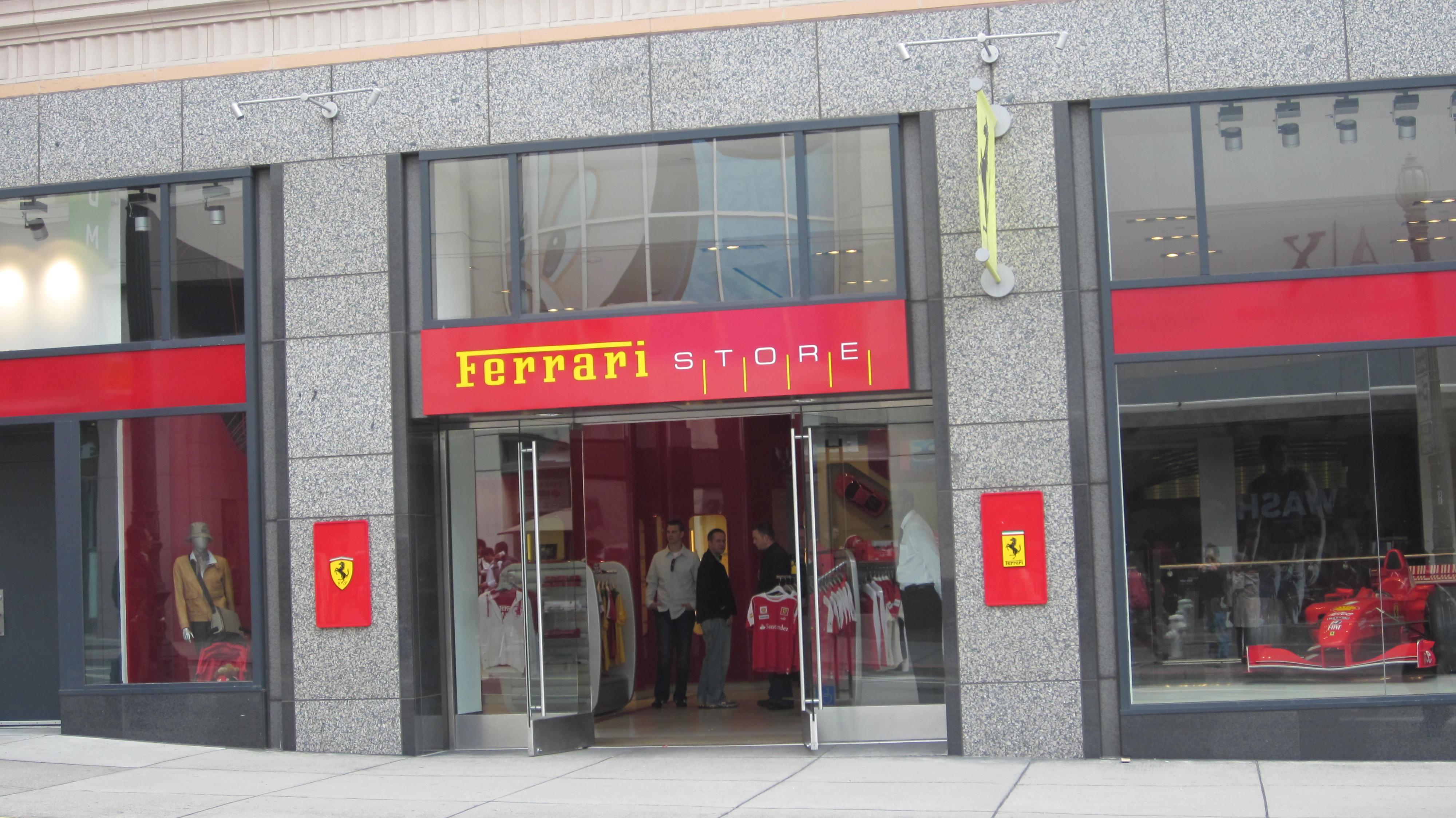 File:Ferrari Store SF exterior 1.JPG - Wikimedia Commons