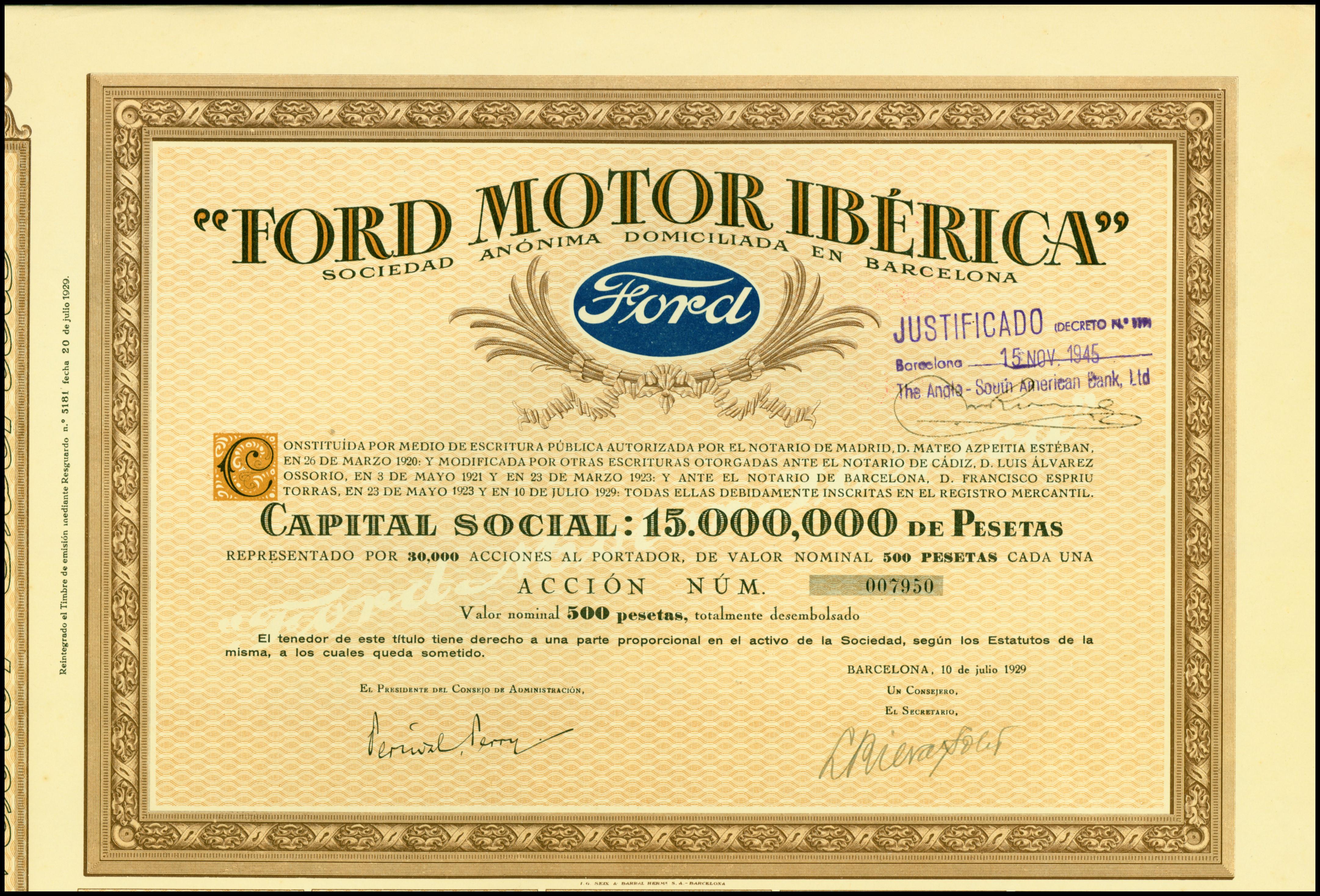 file ford motor iberica 1929 jpg wikimedia commonsfile ford motor iberica 1929 jpg