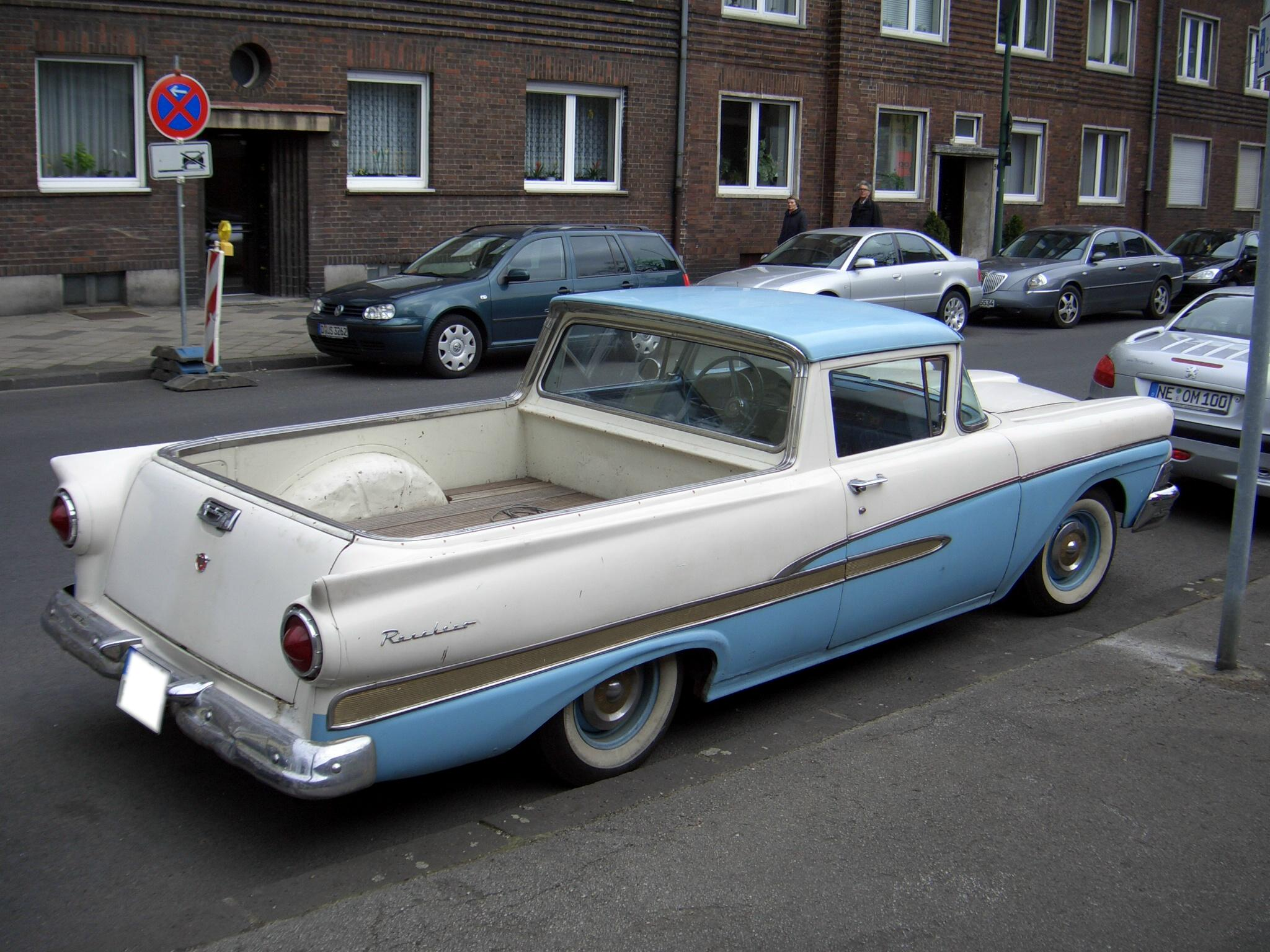 19 1959 ford ranchero for sale craigslist file ford ranchero 1958 backright 2006 04 08 - 1958 Ford Ranchero For Sale